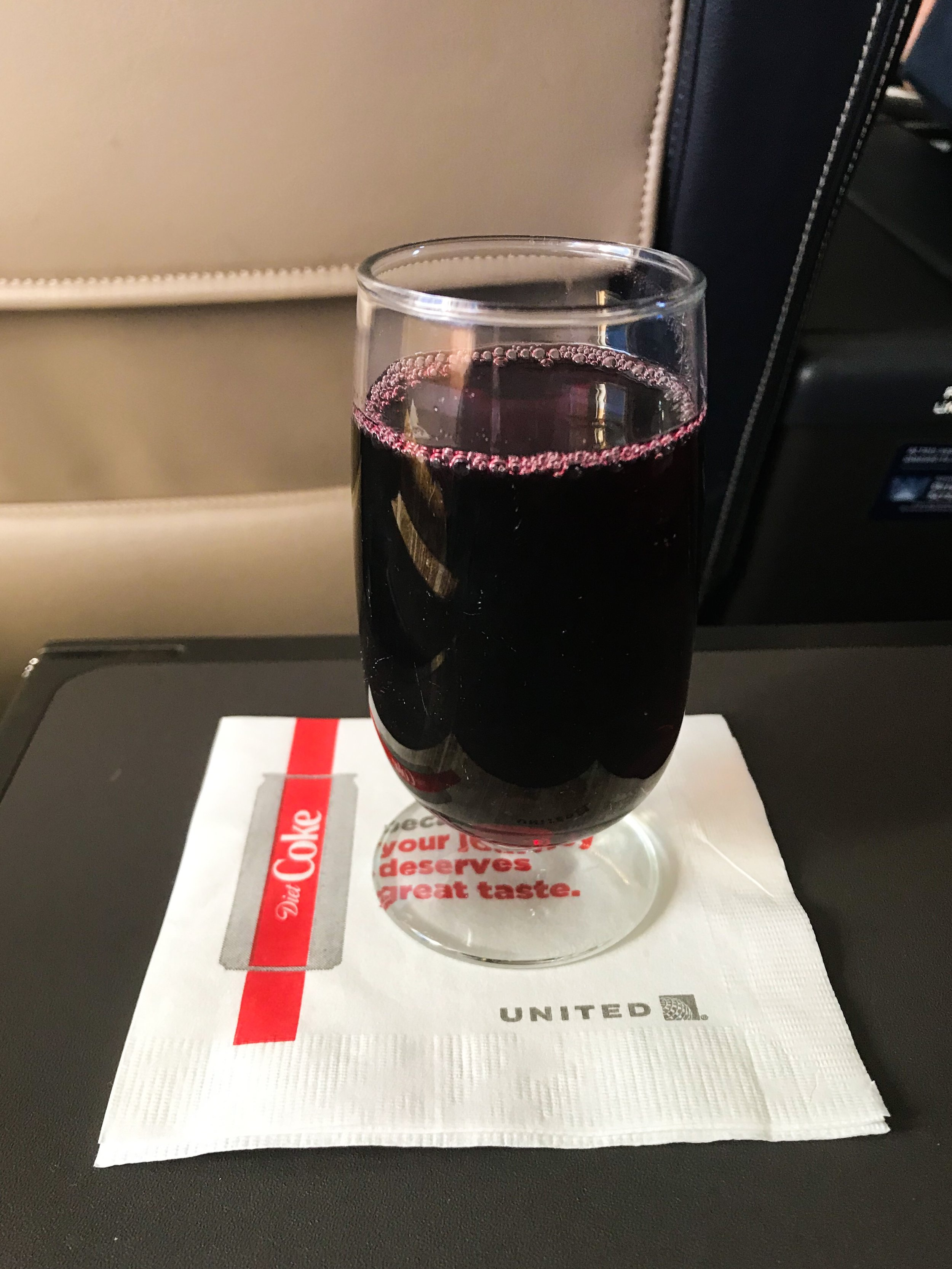The flight attendants were very attentive and constantly walked around with bottles of wine to keep passengers' glasses full.