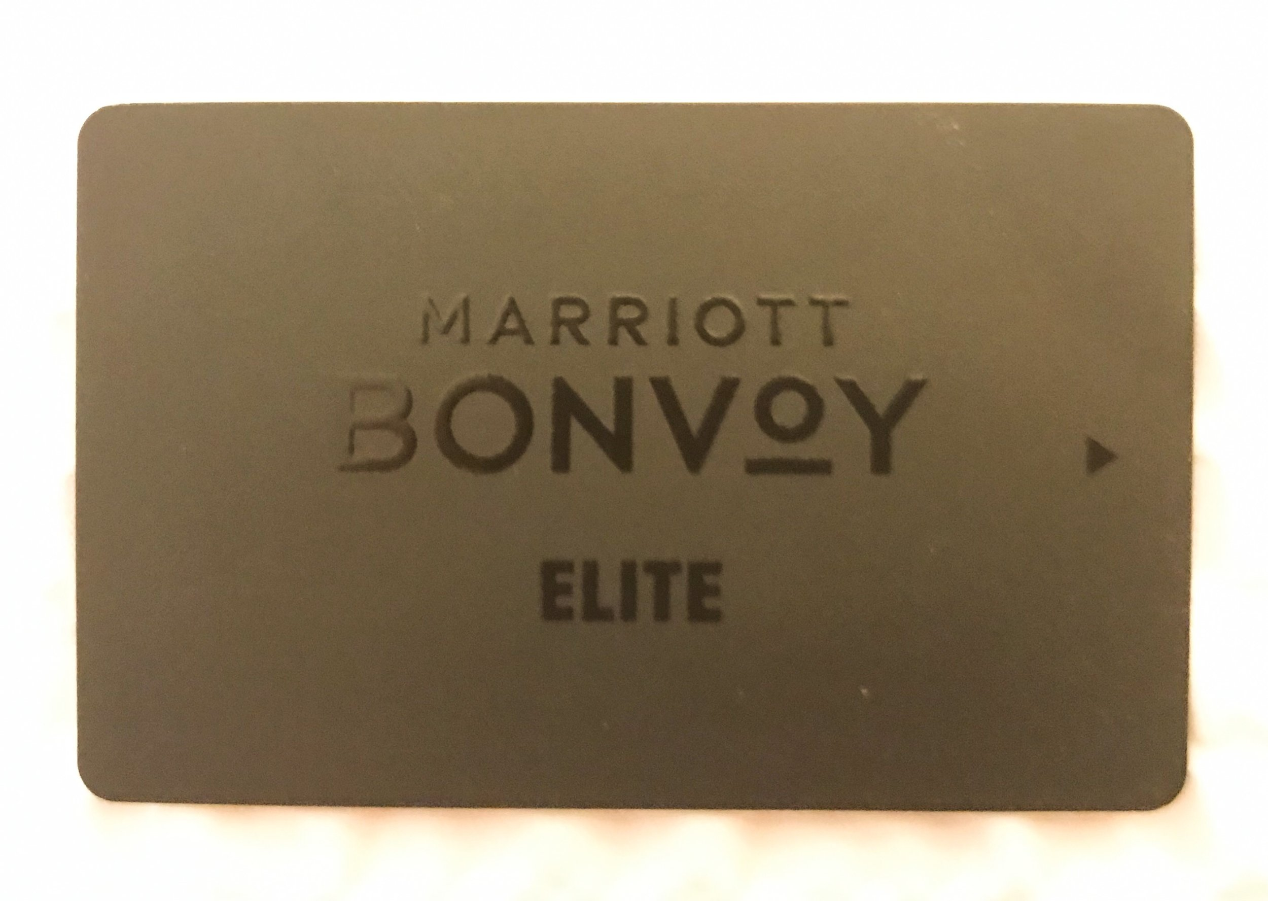 This was my first time staying at a Marriott property after Bonvoy was officially launched as the new Marriott loyalty program. It was only one day after the launch, so I was curious to see if they had done a full replacement or planned to use up current inventory before fully switching over. I didn't care either way, but was pleasantly surprised to see that all Marriott Rewards branded items were replaced with Marriott Bonvoy (all except my $10 meal credit).