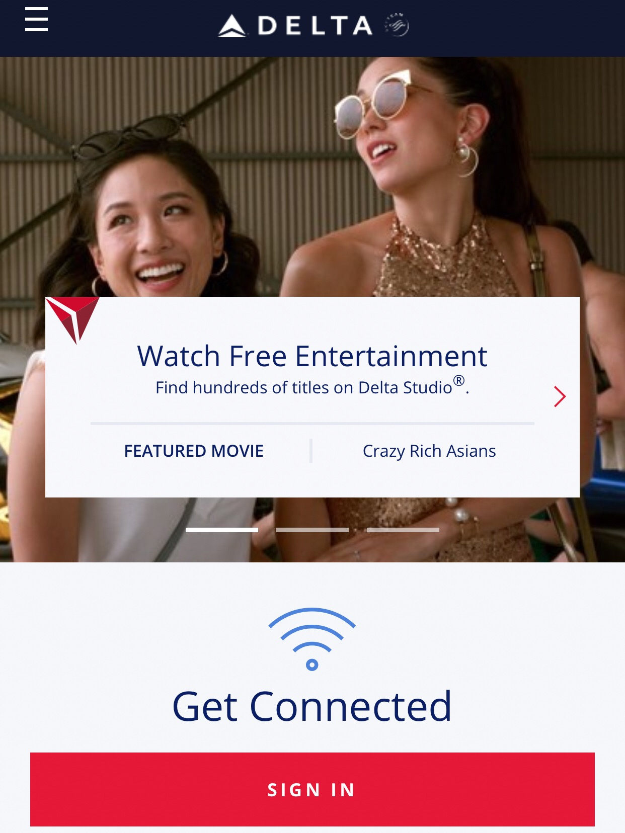 The streaming content includes several new releases, as well as some classic movies and shows.