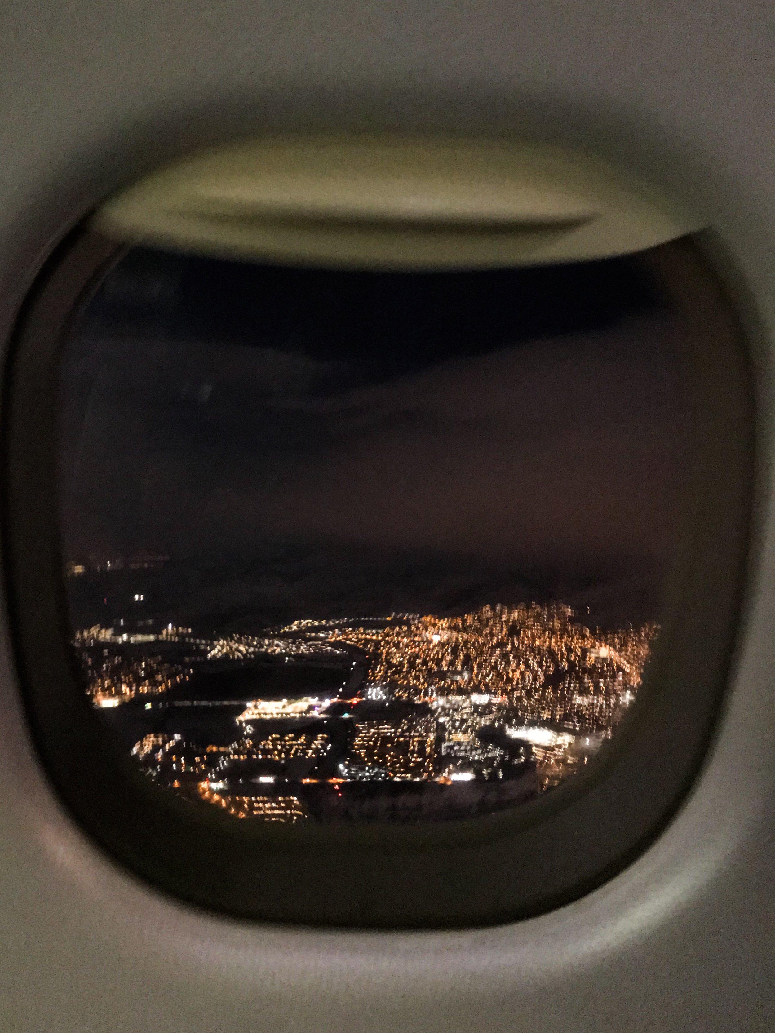 Descending into Salt Lake City.