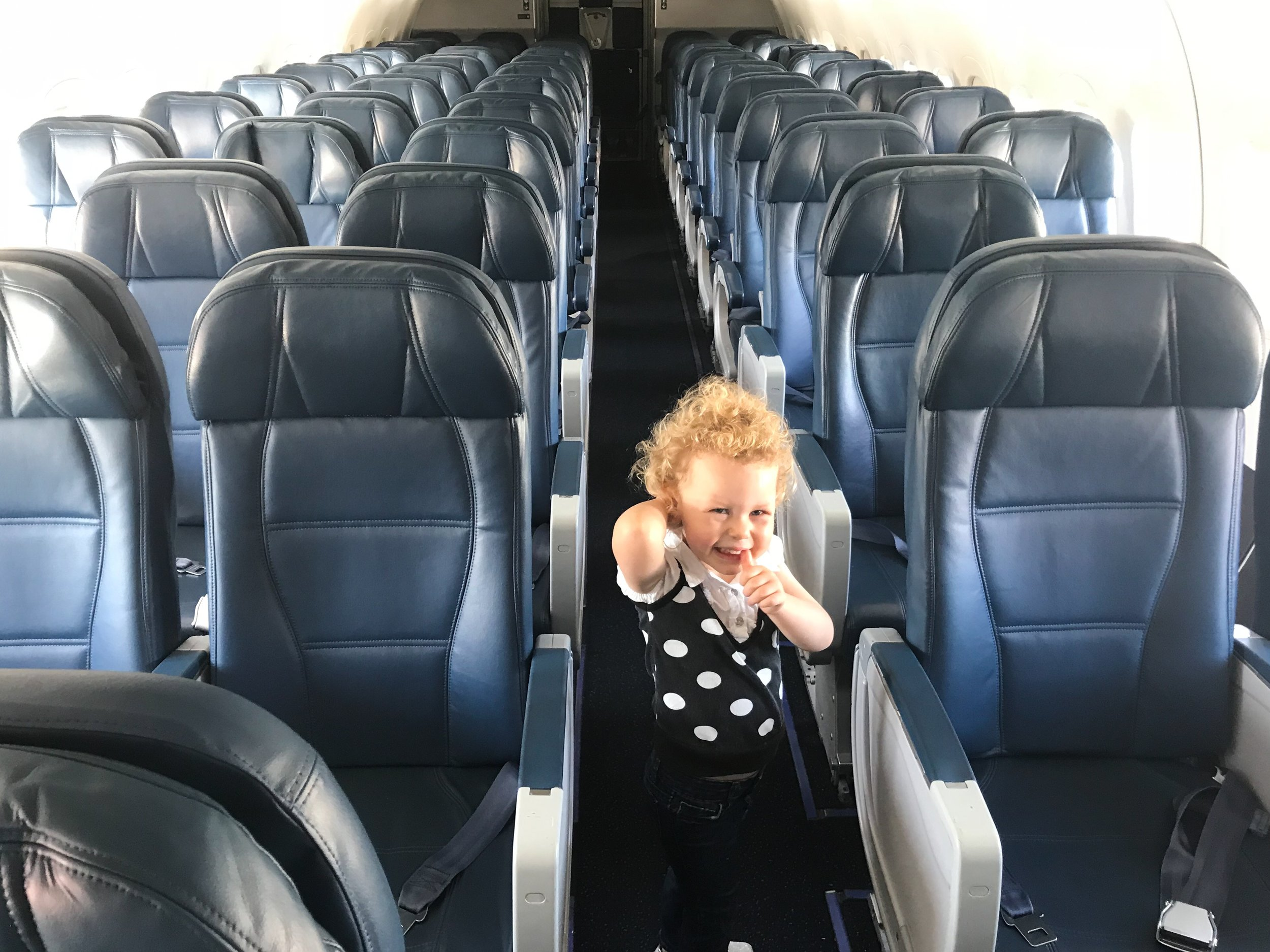 Delta allows families traveling with small children to board early.