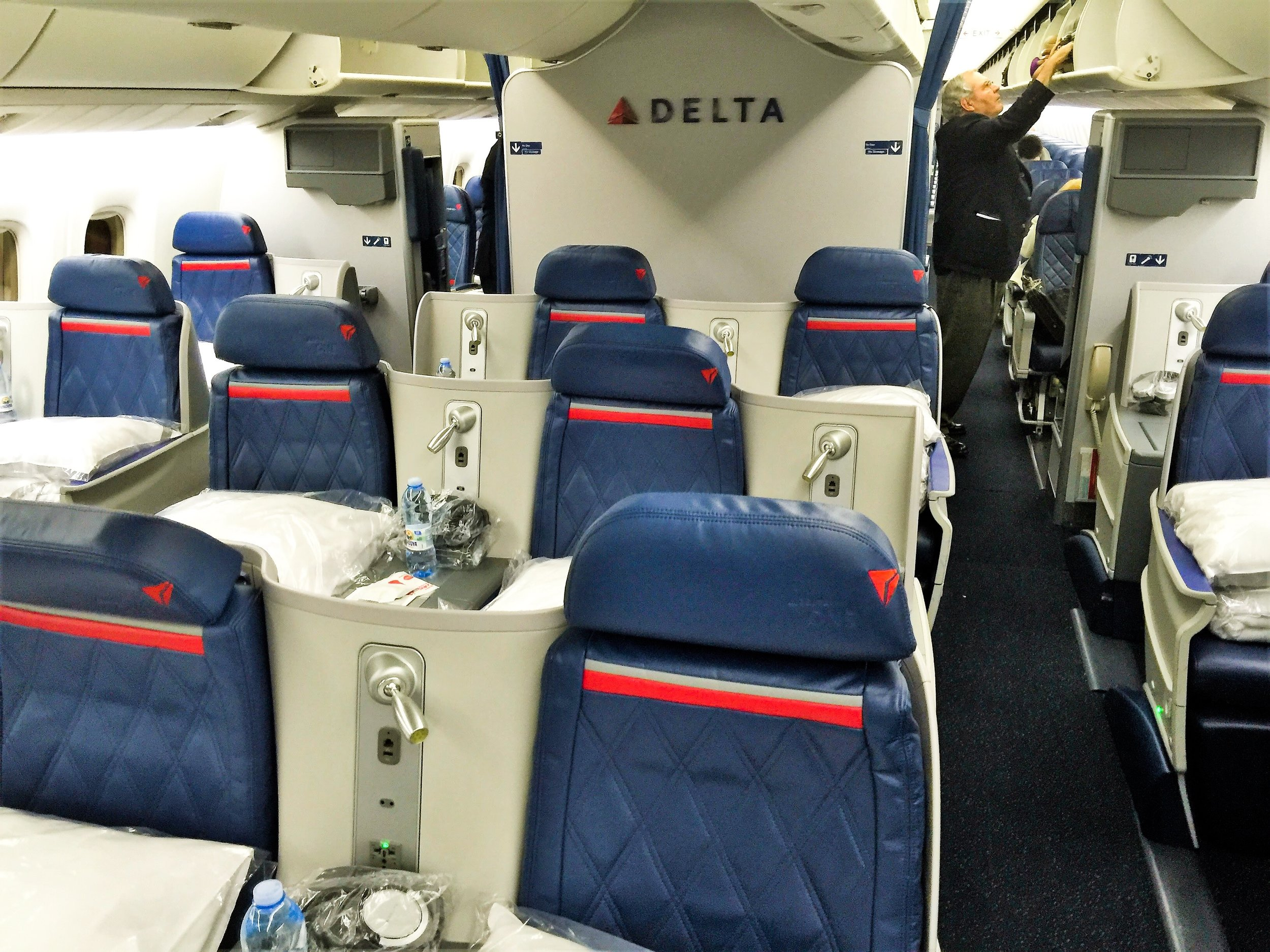 76L - Delta One: 36 SeatsDelta Comfort+: 32 SeatsMain Cabin: 143 Seats