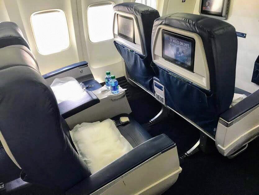 UNMODIFIED AIRCRAFT - First Class: 16 SeatsDelta Comfort+: 36 SeatsMain Cabin: 108 Seats