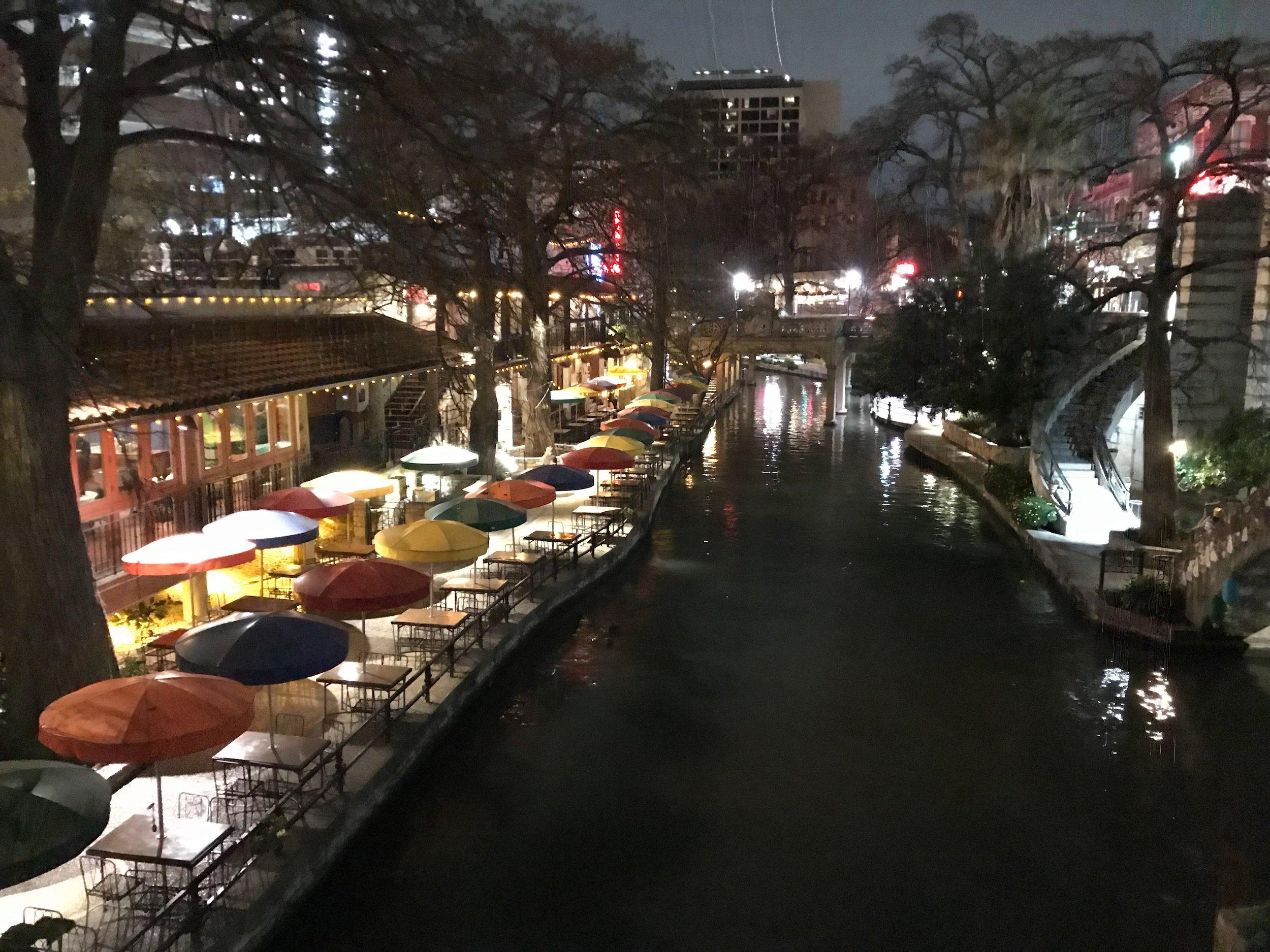 THE RIVER WALK -
