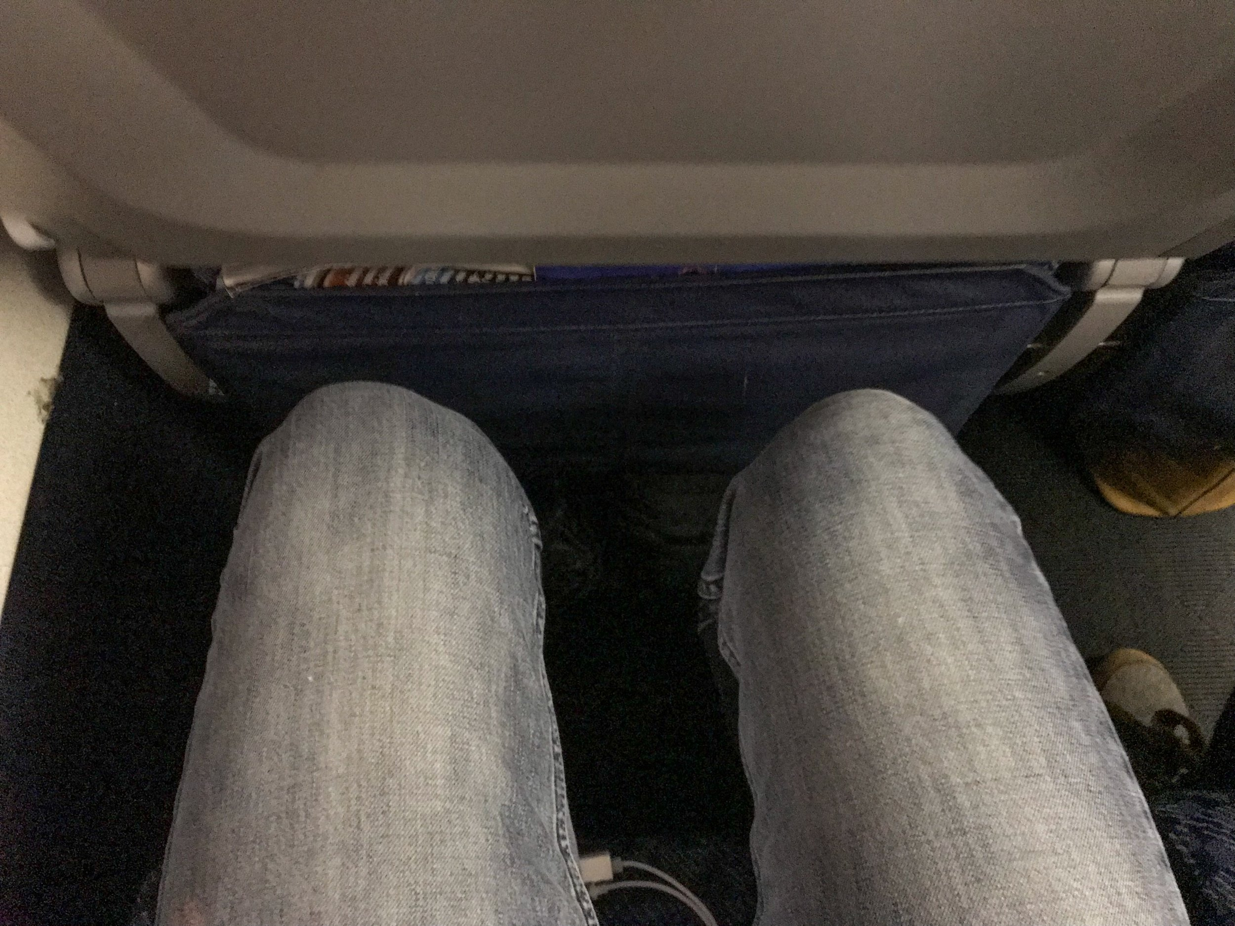 Standard Main Cabin seat pitch - 31 inches on the MD-80.