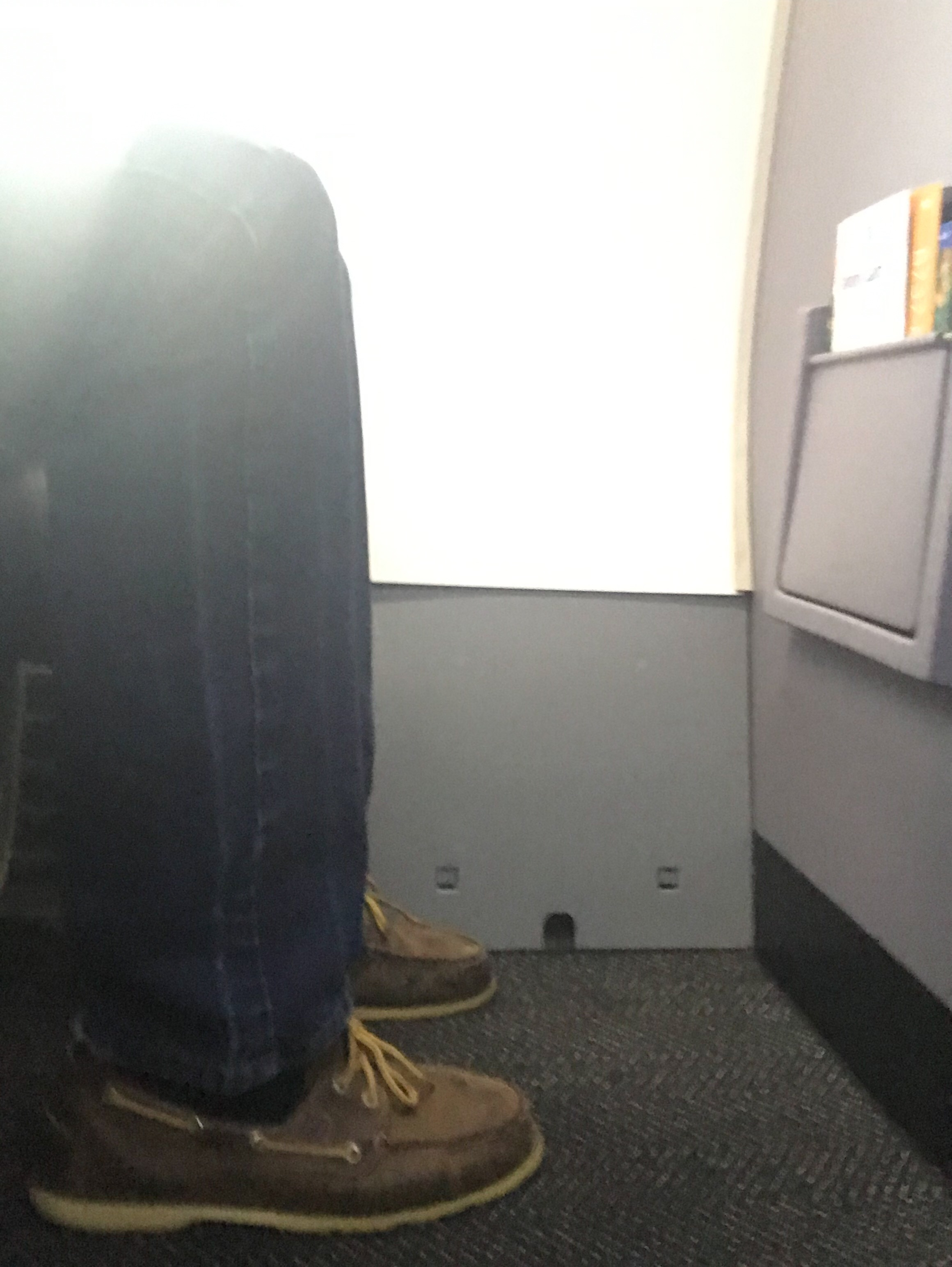The best legroom on the plane.
