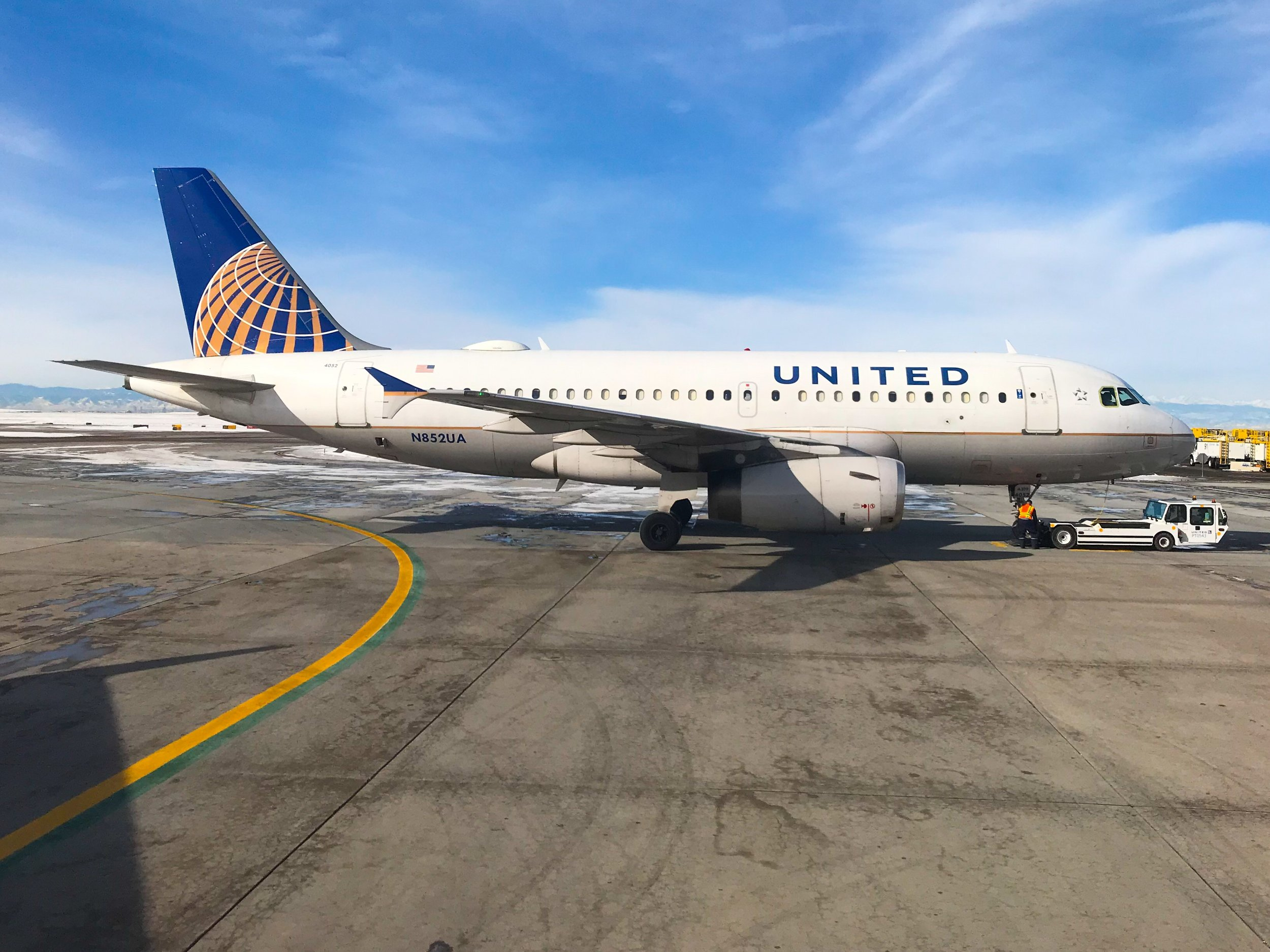 AIRCRAFT TYPE - United and its regional affiliates operate over a dozen different aircraft types.