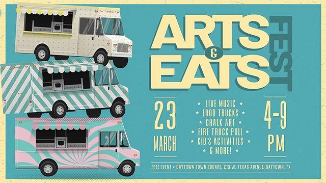 Hey everyone! I'll be participating at the Arts & Eats Fest this Saturday doing Chalk Art! . Come by and support local Artists by purchasing $1 dollar tickets and dropping them to your favorite artist!!! . Judging will end at 7pm. See you all there!!! . *Remember to bring cash* . . . #chalkart #tx #baytown #art #food #arts #chalk #artist