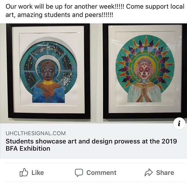 Check out https://uhclthesignal.com/wordpress/2019/04/18/students-showcase-art-and-design-prowess-at-the-2019-bfa-exhibition/ for the full article!!!! . . . . #printmaking #artist #photooftheday #screenshotoftheday #houston #tx #htx #chinecolle #print #prints #ecstatic #art #instaart #instagram #instaartist #instaartists #artoninstagram