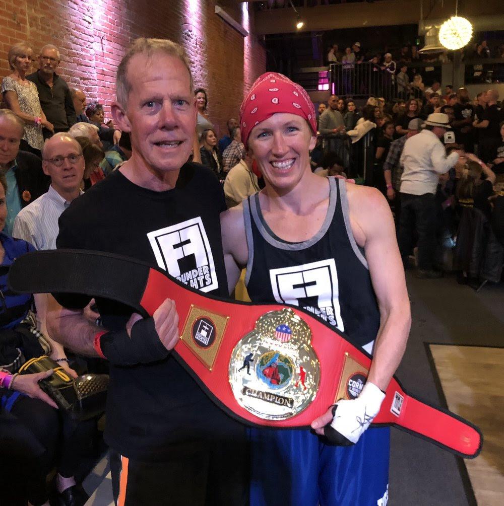 Bill London and Krista Ingle, 2018 Champion raised $5,920 for the Davis Phinney Foundation