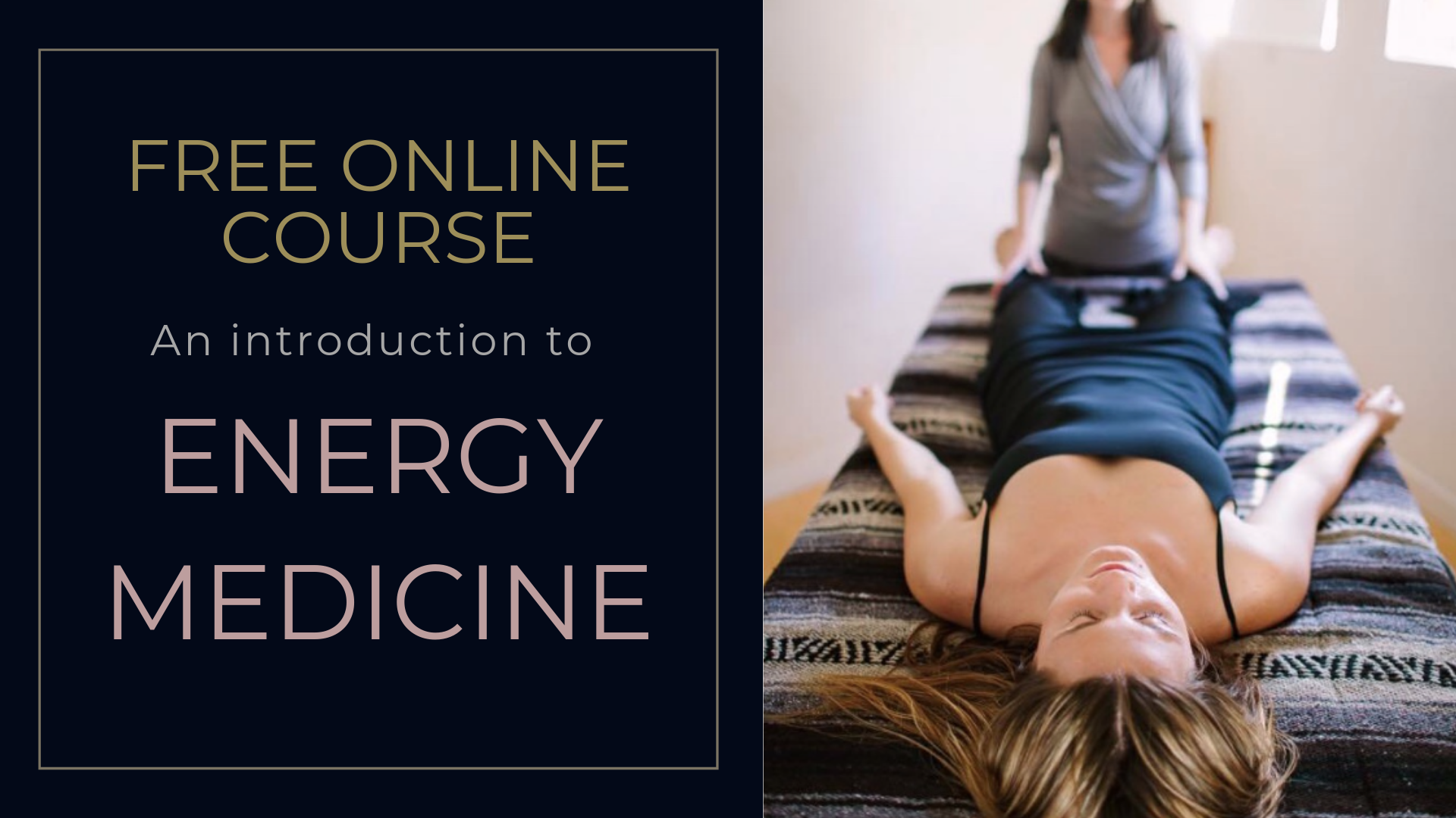 Learn about polarity therapy IN THISfree online cOURSE -