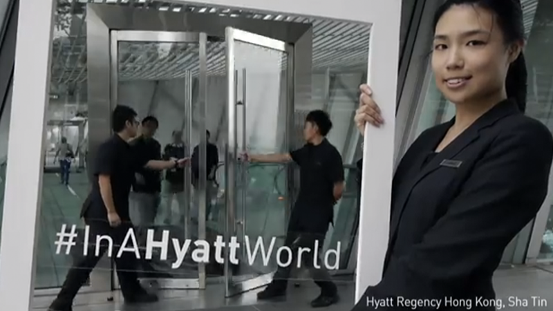 Hyatt Open Doors -