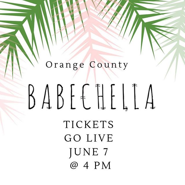 Set Your Alarms Because Tickets Go Live Today! Get Your Tickets And Come Say Hi, Shop At Our Pop-Up, And Hang With Your Babes! Don't Miss Out On The Event Of The Summer☀️ . . . . #EmpoweredChicFashion #Babechella#SummerFun #SummerEvent #HuntingtonBeach #Shop#PopUp#Boutique