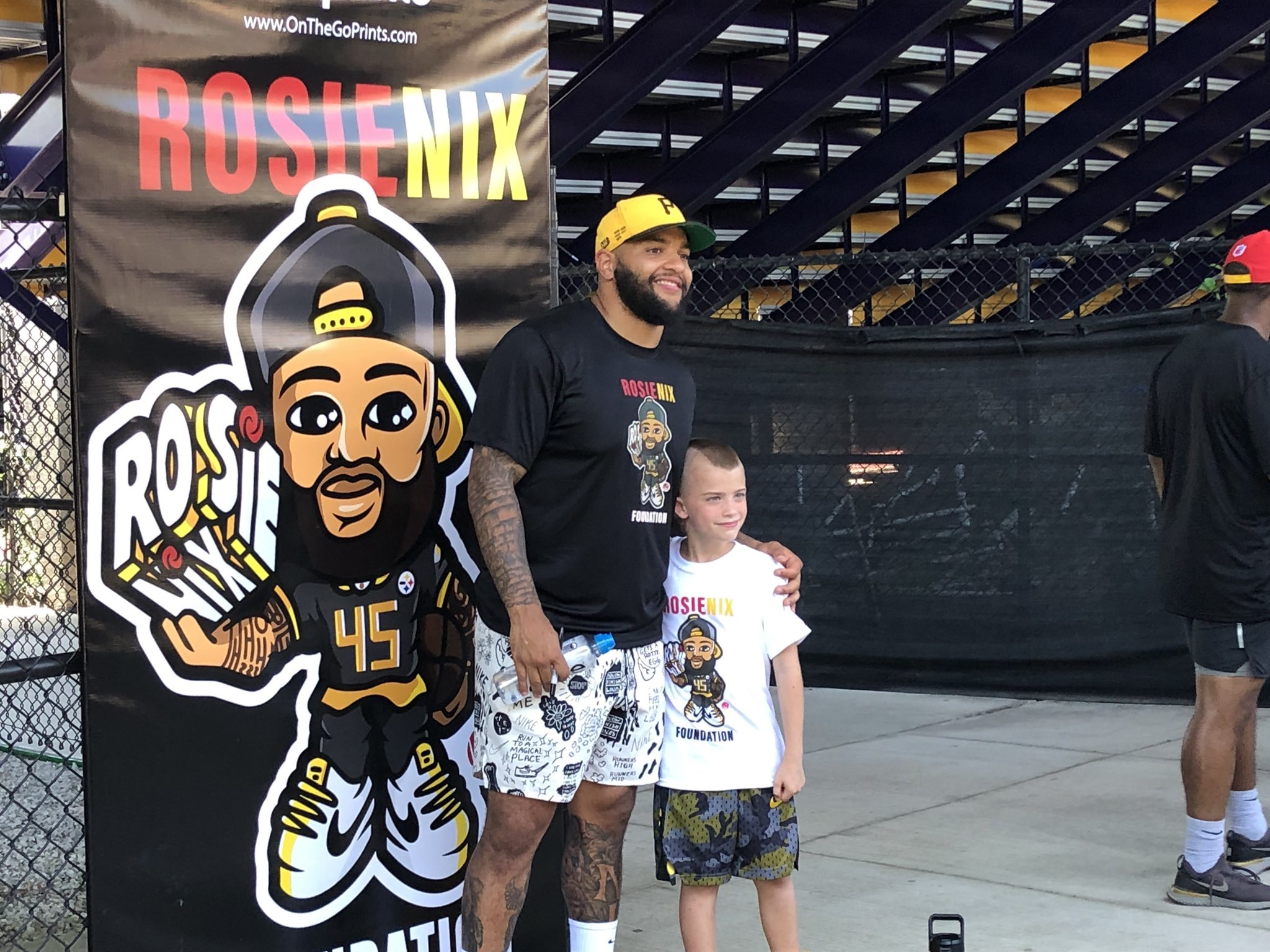 CAMP NIX 2019 - ''Everyone wins at the Rosie Nix Youth Football Camp.''