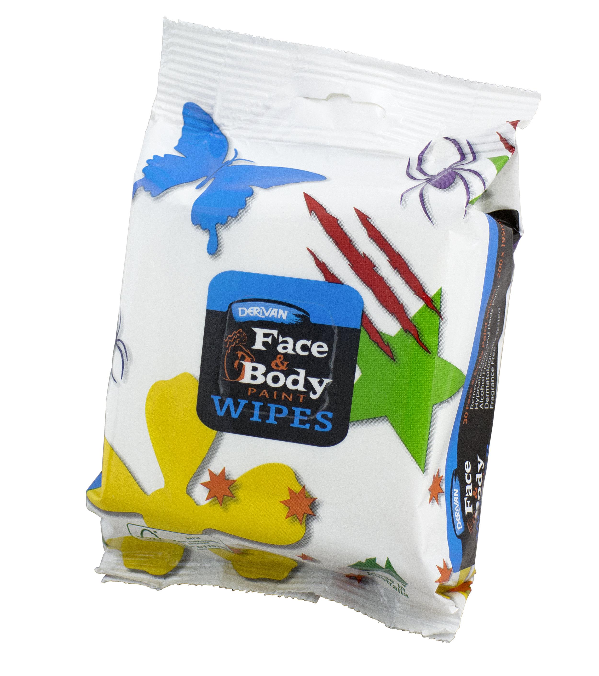 DERIVAN FACE & BODY WIPES