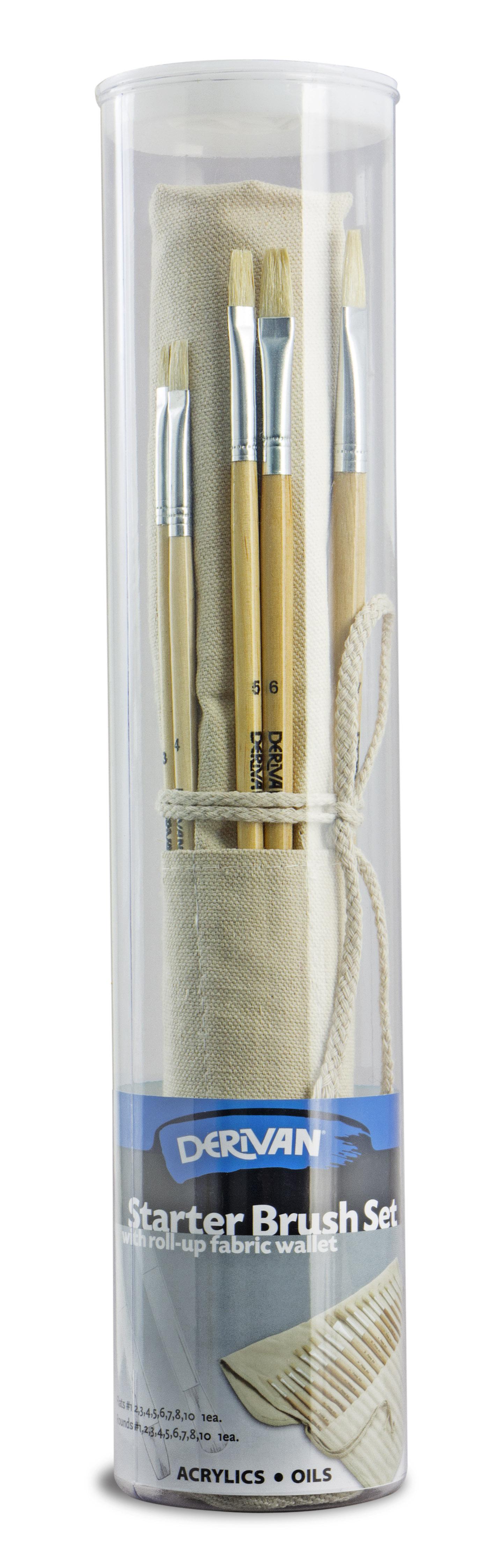 Bristle Brush Wallet Set - 9BS18D