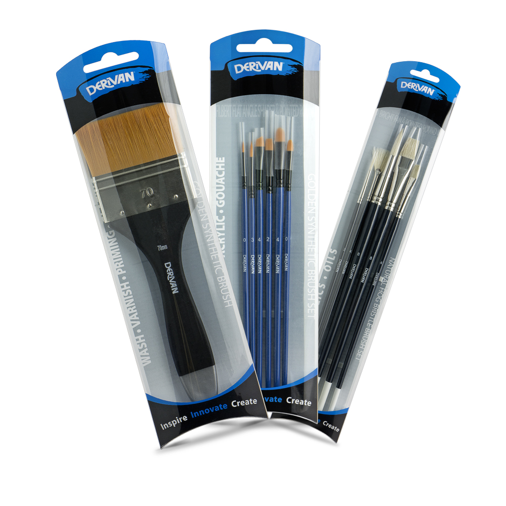 DERIVAN BRUSH SETS