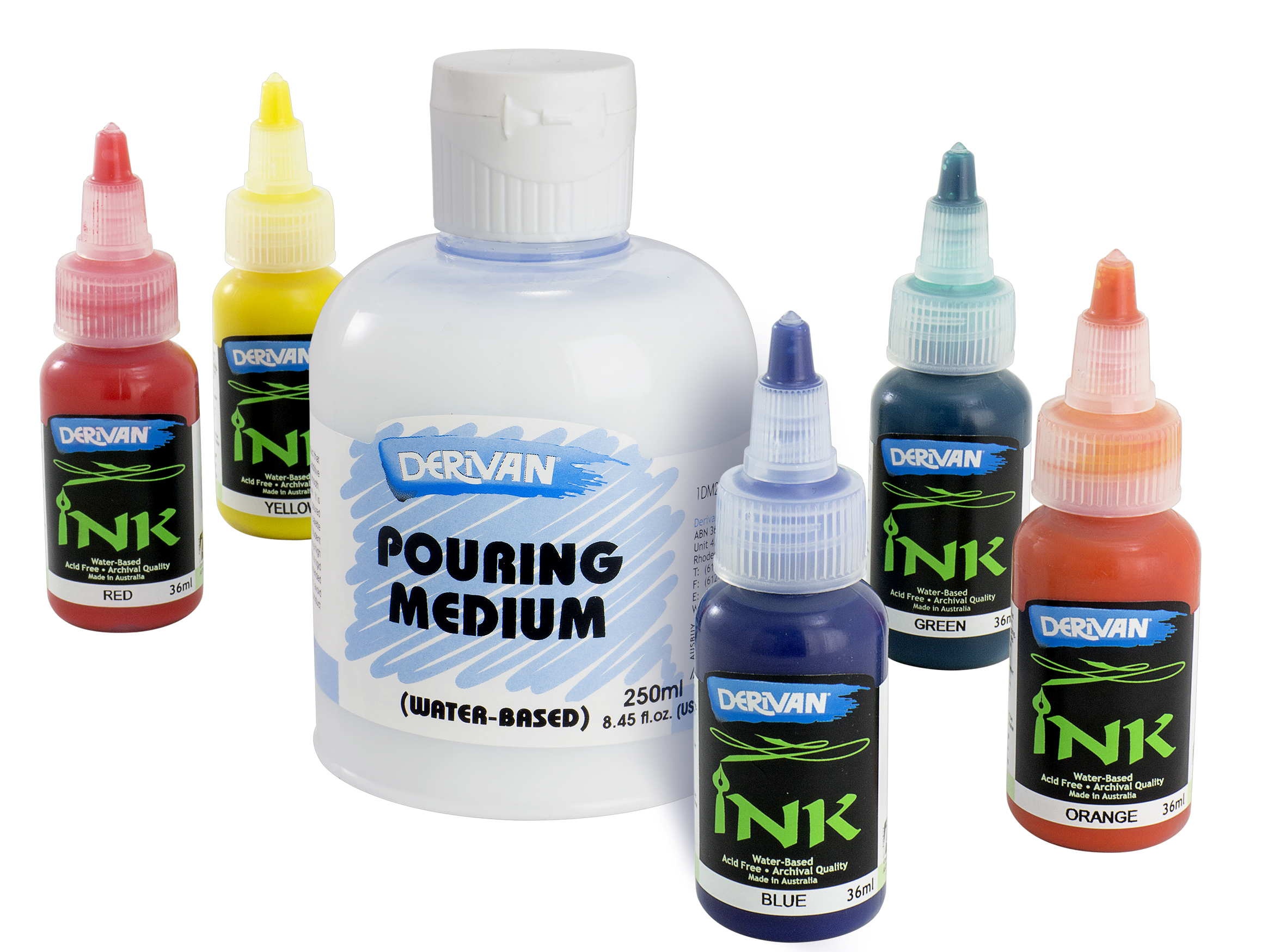 Derivan Pouring Medium