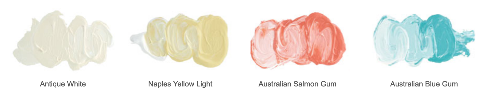 light tones in painting