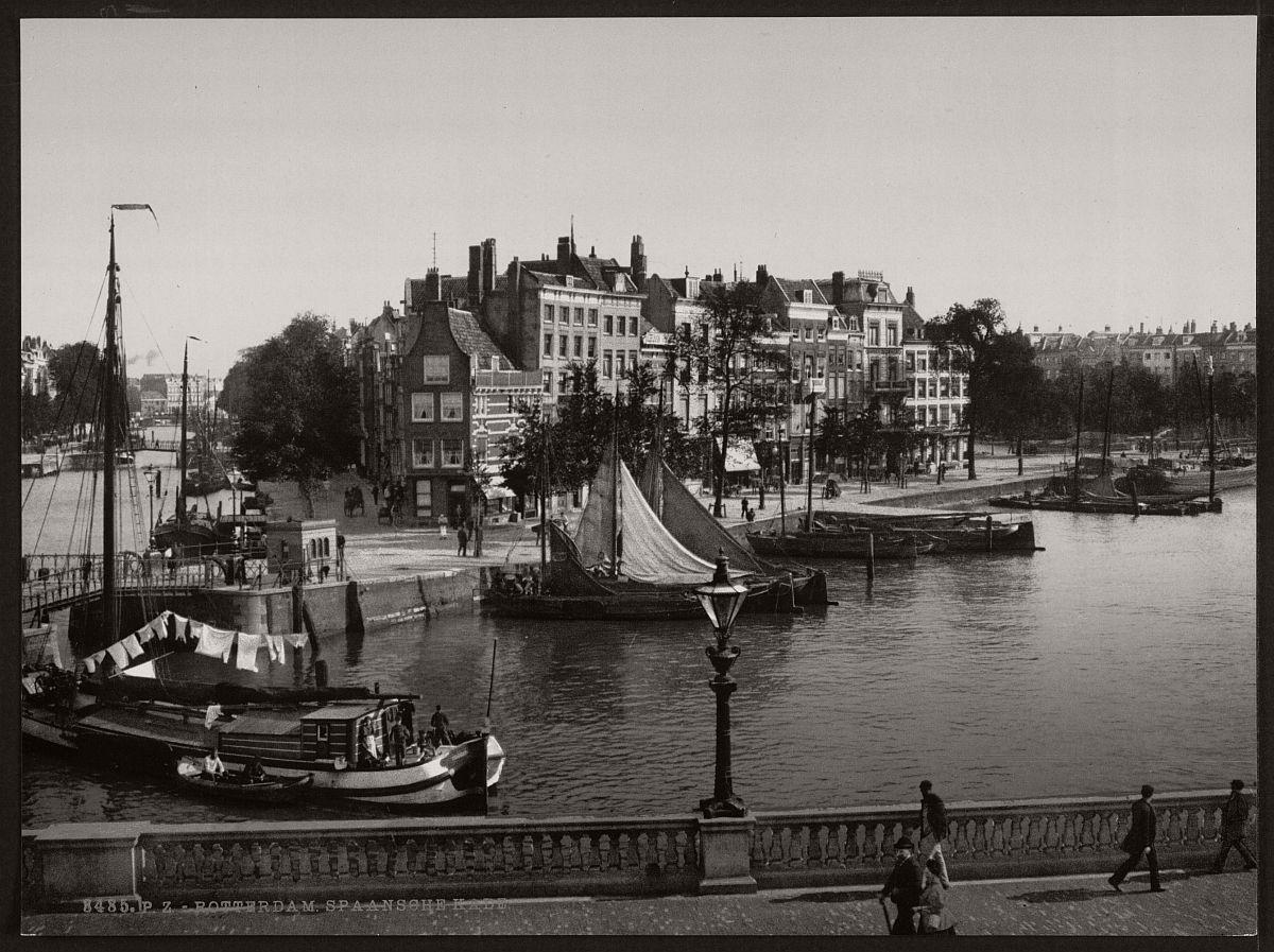Rotterdam - Rotterdam in the 19th century.