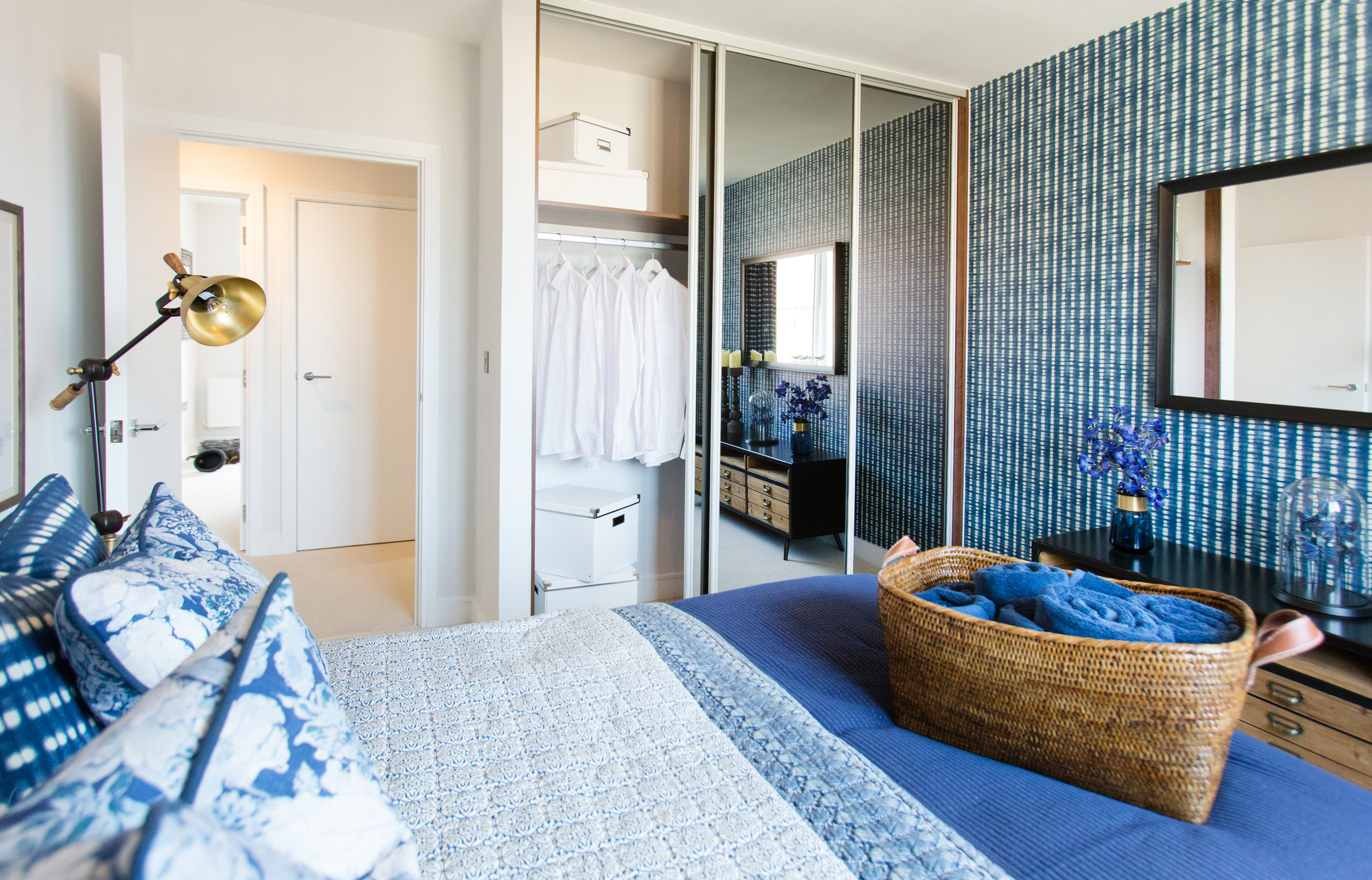 Maximise the bedroom storage in your new build housing development.