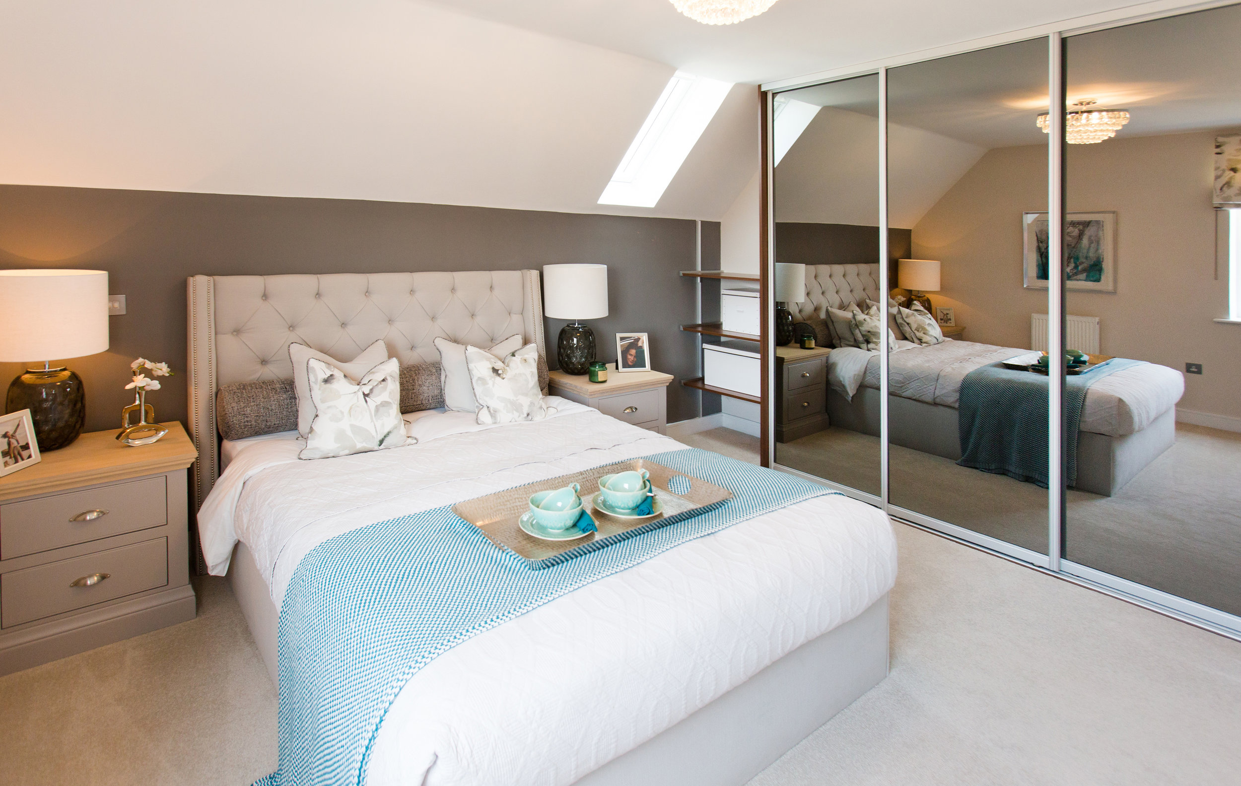 After the kitchen and bathroom fittings, potential buyers look to the bedroom storage offered.