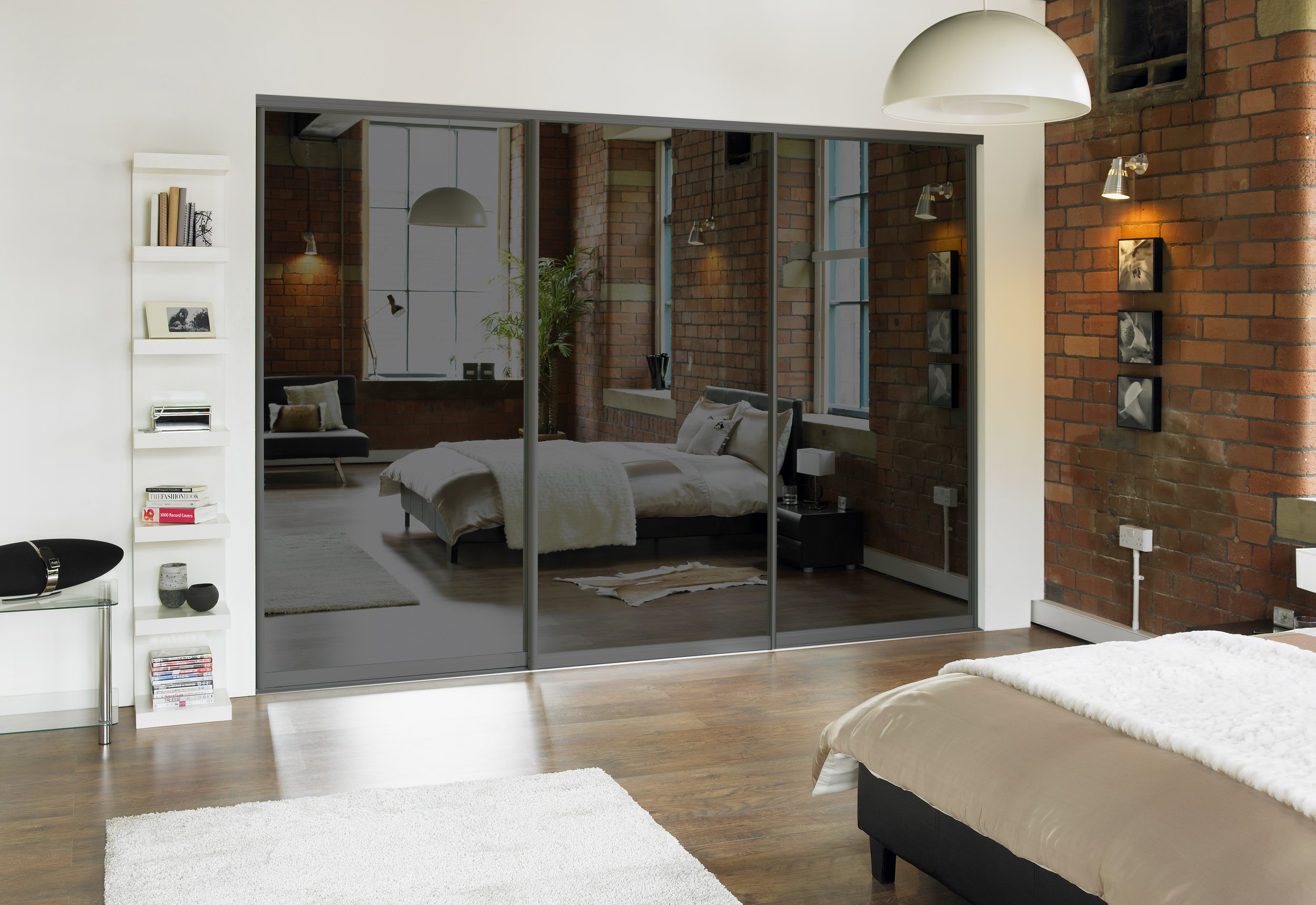 The Simplicity range offers stylish sliding wardrobes, in a diverse range of finishes.
