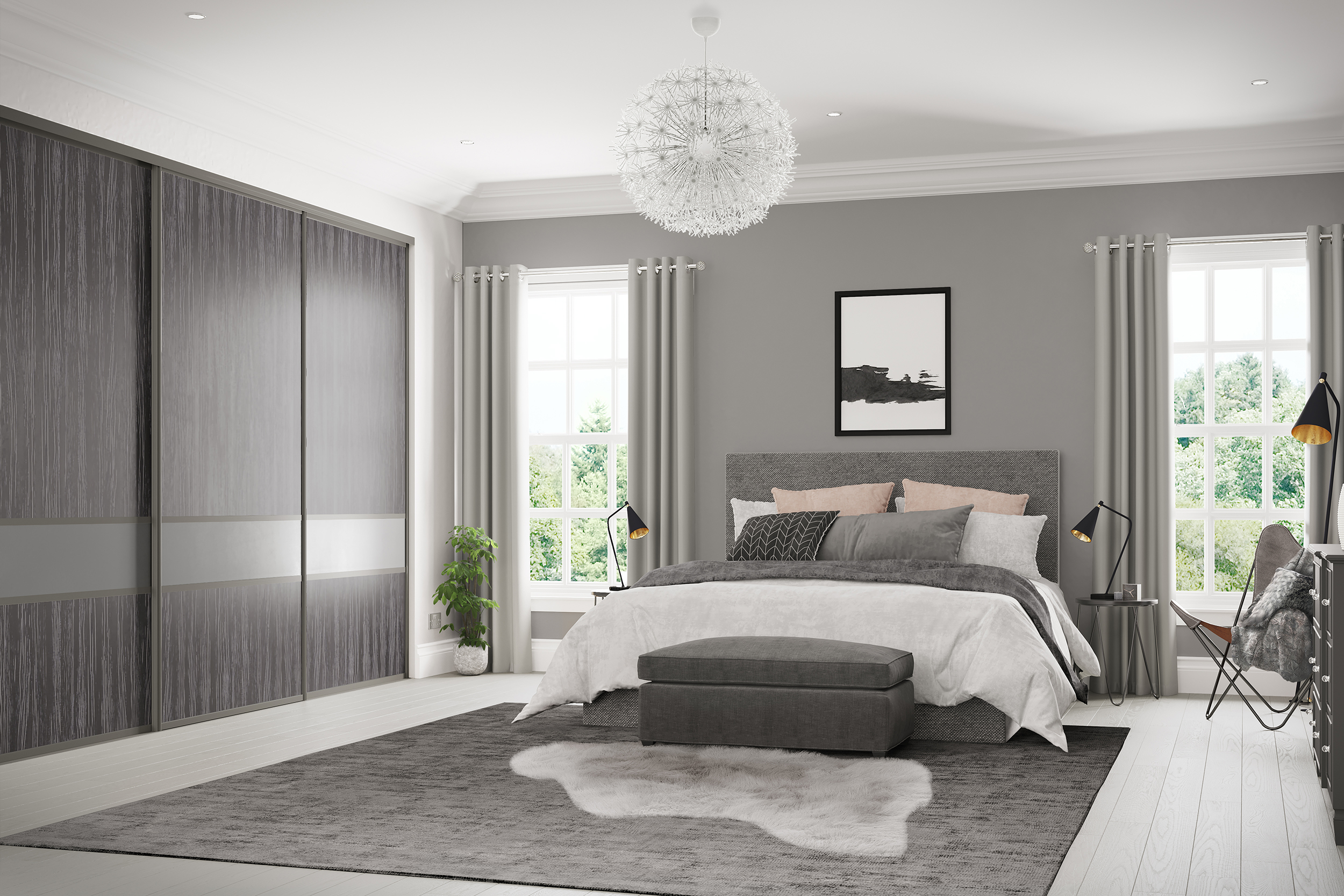 Creating stunning sliding wardrobe storage is our speciality.