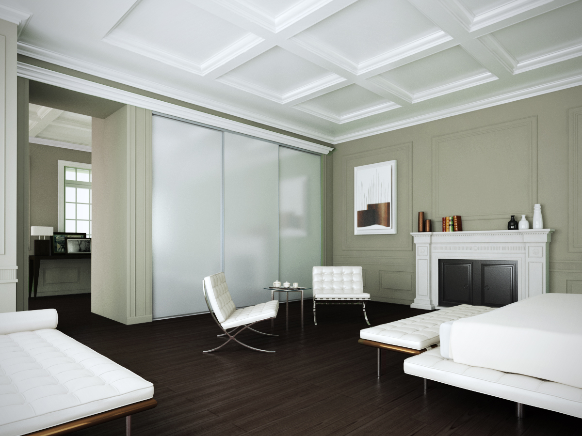 Our sliding wardrobes look fabulous in any setting, from period properties to warehouse conversions.