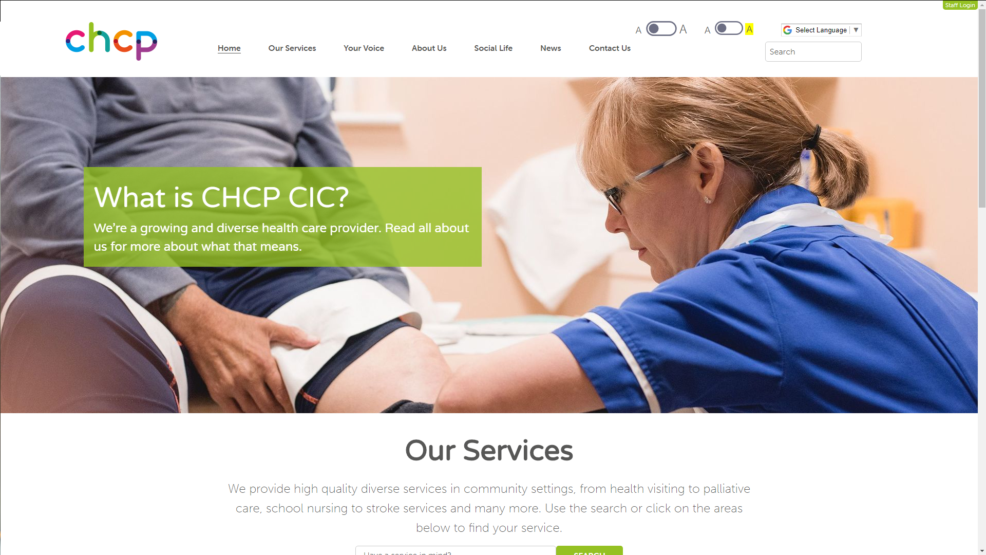 City Healthcare Partnership Community Interest Company