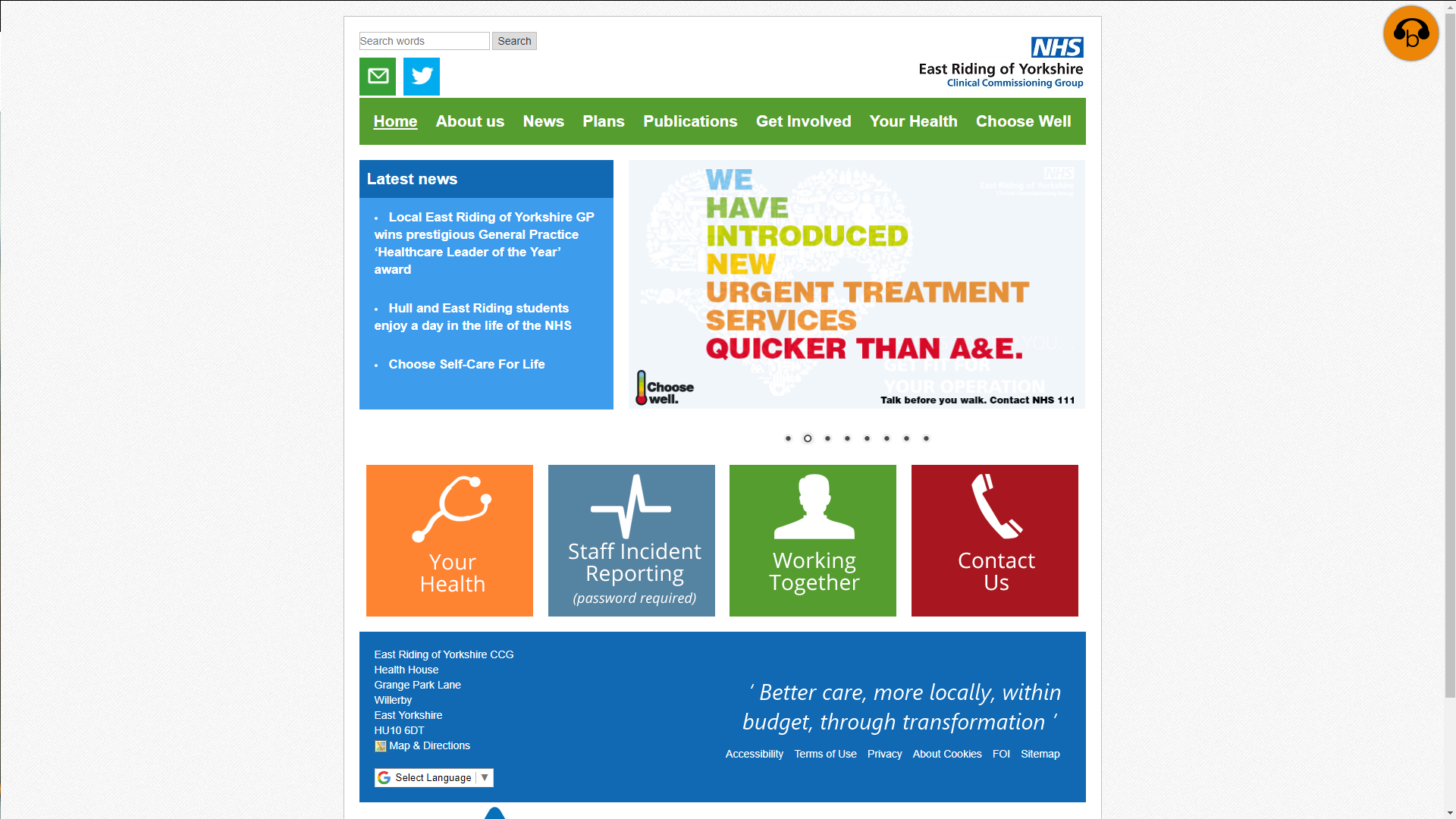 East Riding CCG