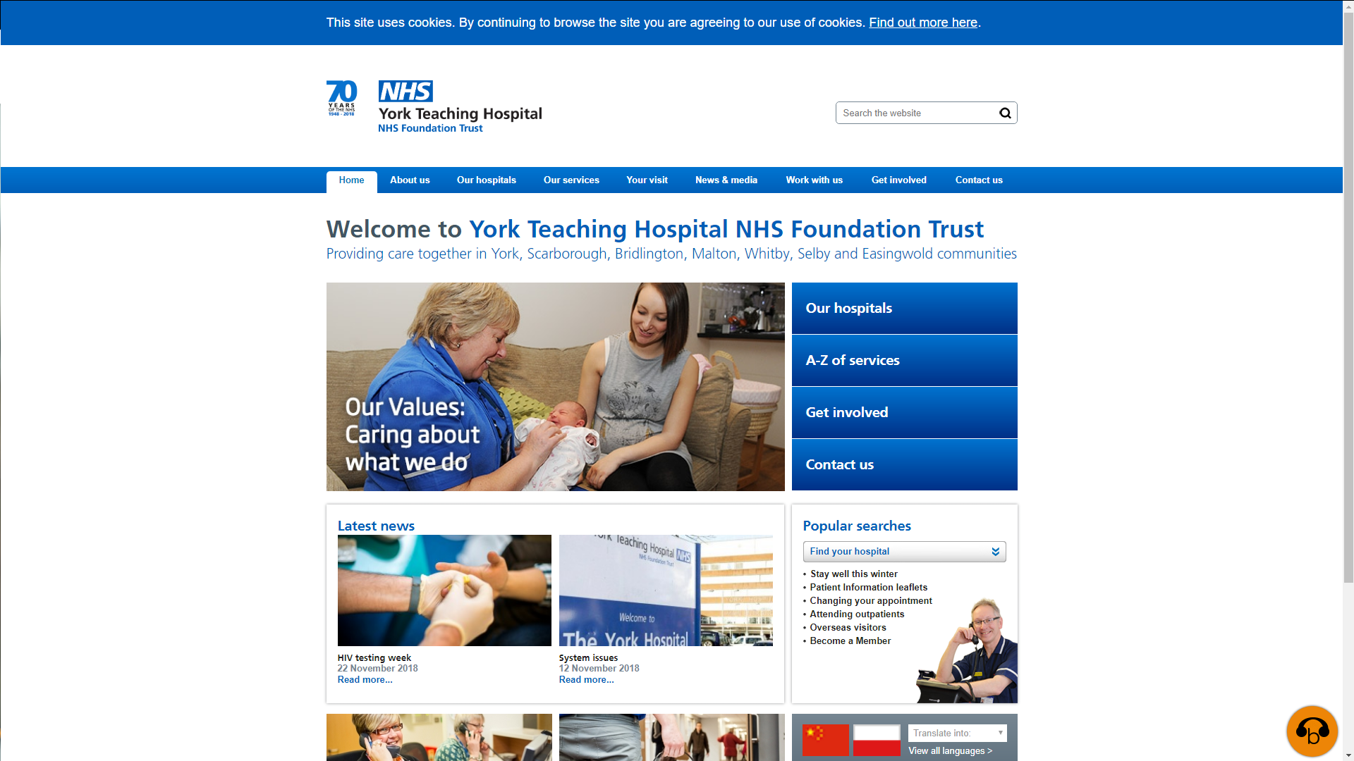 York Teaching Hospital NHS Foundation Trust