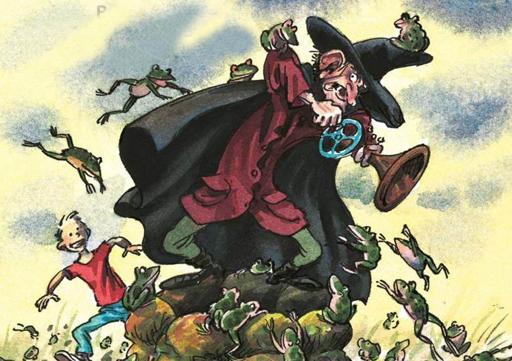 prisen af pæremosen - Der er 7 bøger i serien og drengen Julius og hans noget specielle, ven heksekenderen Pæremadsen, hvis helsefornemmelse sidder i hans ene kæmpestore øre. Sammen bekæmper de vore dages ufatteligt udspekulerede og ondskabsfulde hekse, som ligner helt almindelige mennesker og derfor er meget svære at opdage før det er for sent. Hemmelige hekseregler, en magisk tudsepresse, en mand som i virkeligheden er en forhekset rotte, er bare nogle af ingredienserne i disse hæsblæsende spændende og humoristiske fortællinger …