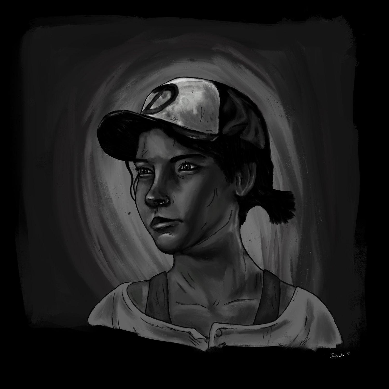 Clementine Fan Art Samantha Mcginley