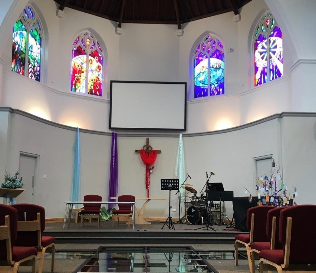 Avenue Baptist Church   Sanctury