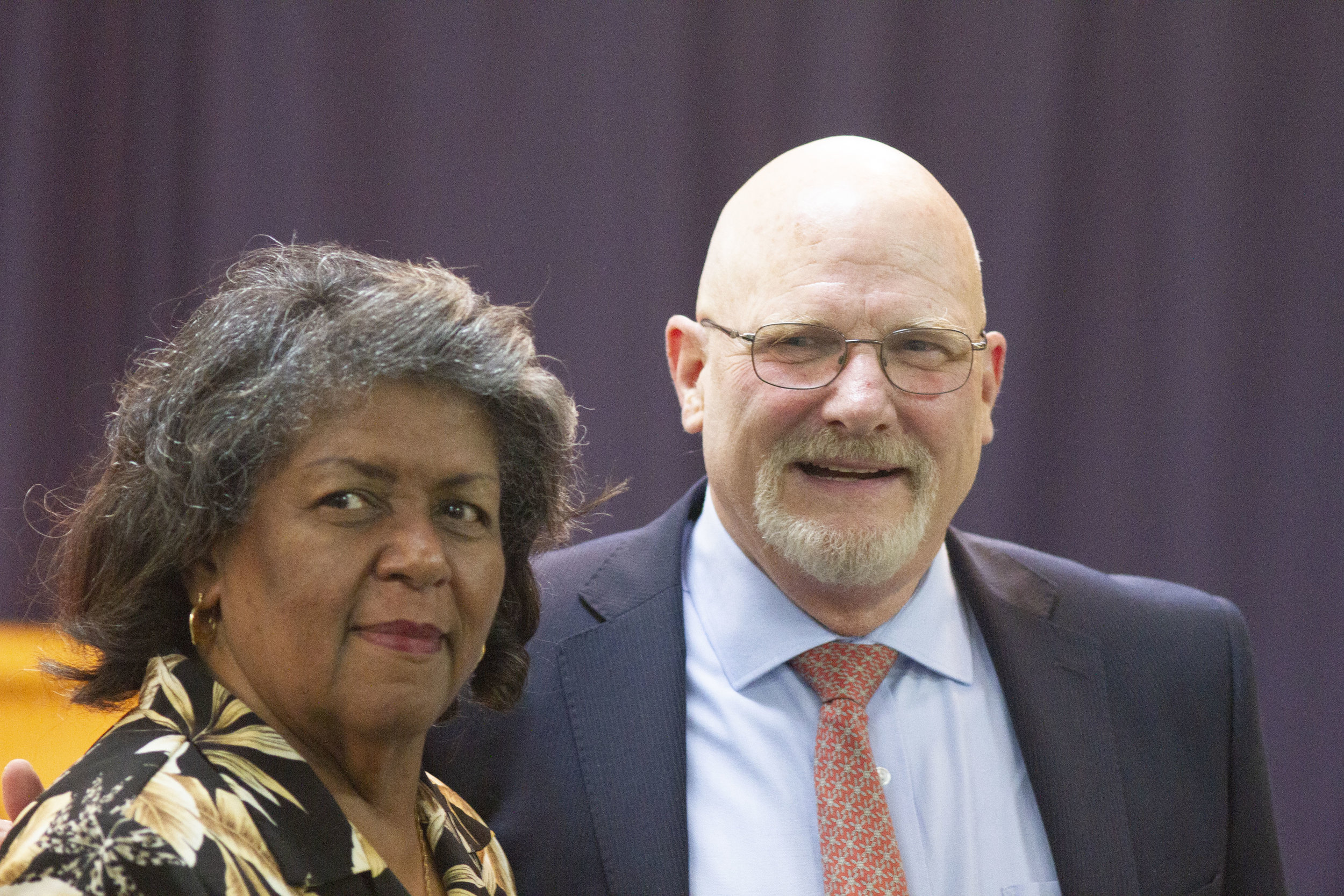 Democratic Forum with Evelyn Morris Harris.JPG