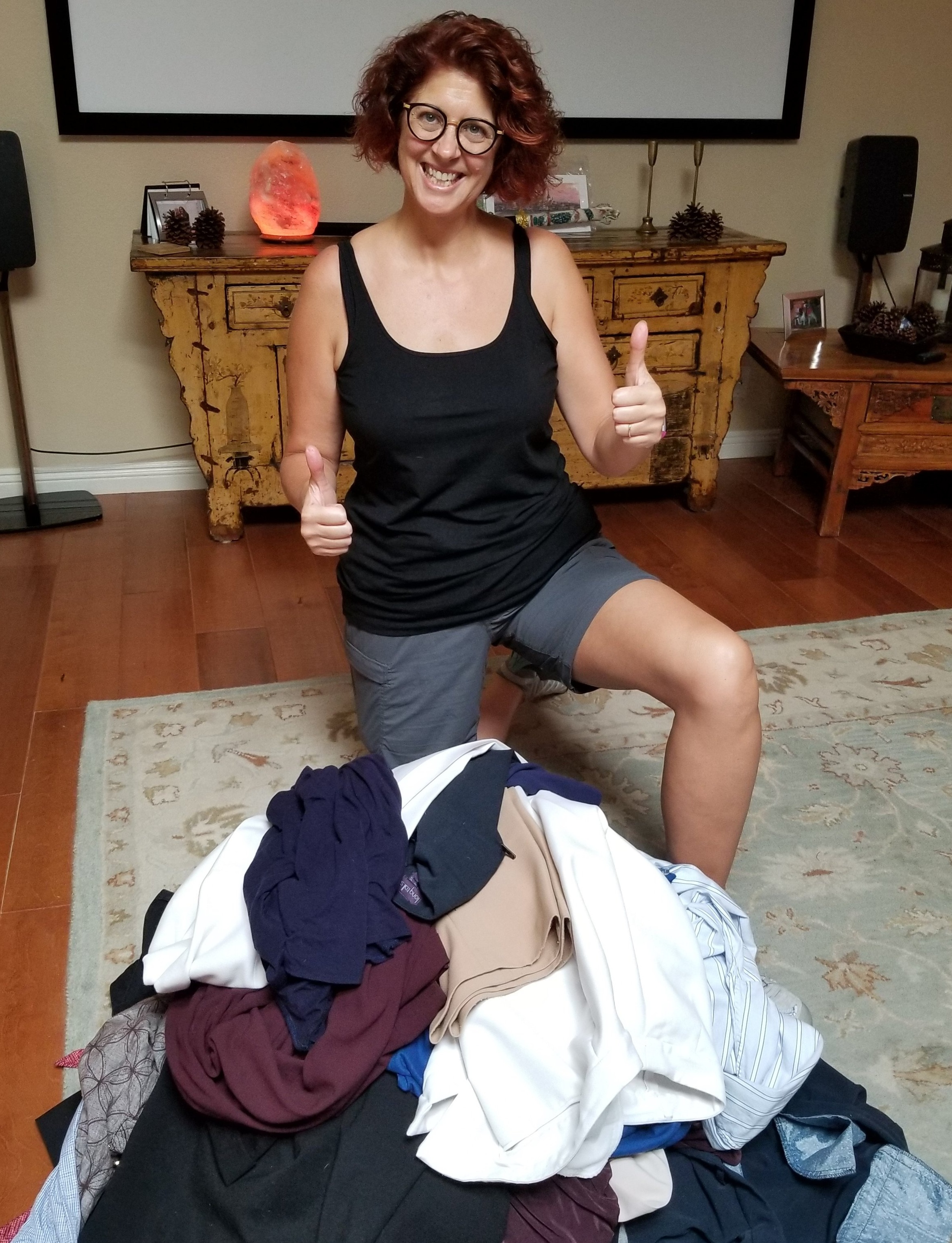 Post WildFit Challenge Closet Clean out, August 2018