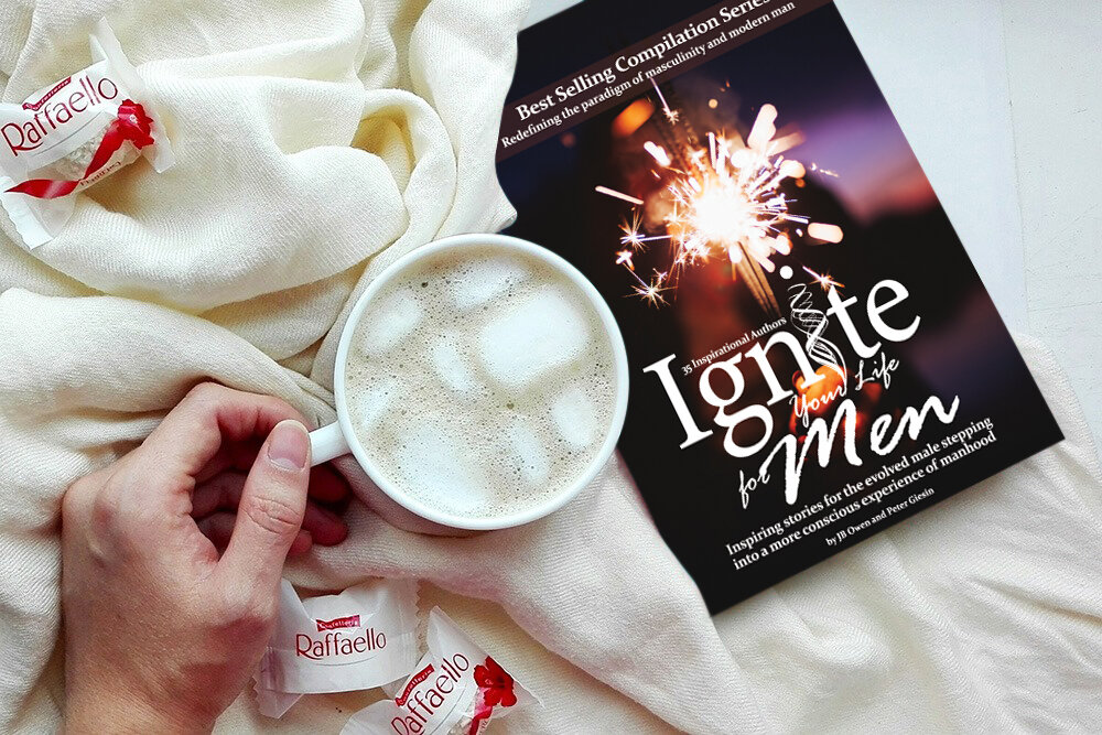 IGNITE YOUR LIFE FOR MEN - Each story is crafted with the intention of advancing men in their masculine discovery of awakening their inner knowing to become the truest version of themselves. My son, Bryce Malli, is a contributing author to the Ignite Series.