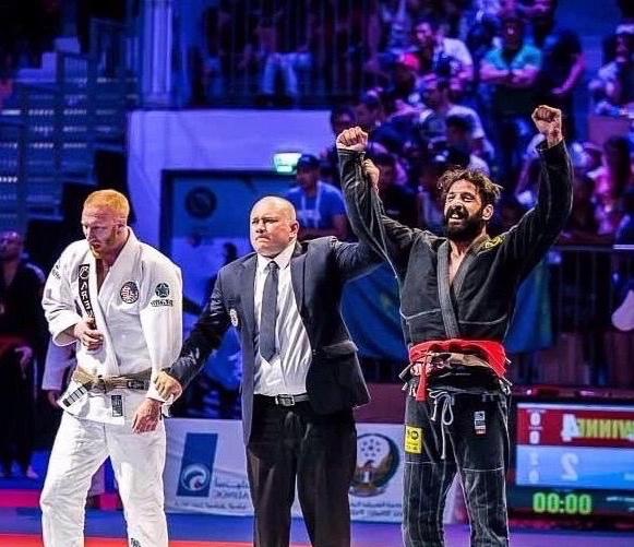 Mario Bazouri - From Team Nogueria DubaiIBJJF Europeans Brown Champion (2016 Brown)Abu Dhabi World Pro Champion (2015 Brown)Abu Dhabi World Pro Champion (2013 Purple)