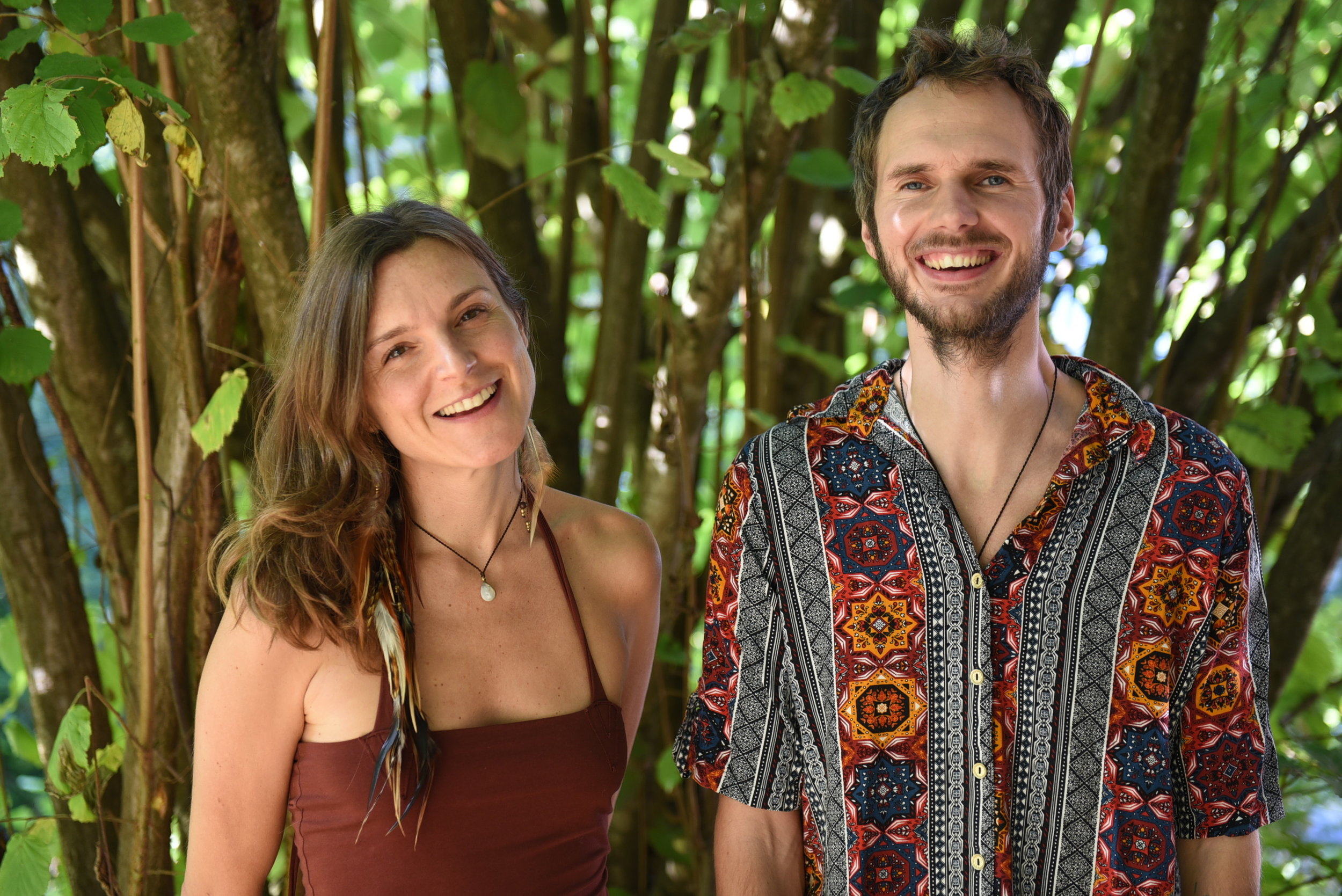 ALUNA - Aluna Ritual Music is the name of the co-creation project between Steffen Kirchhoff and Maywa. They met at a music festival in the jungle of colombia in 2016. The word