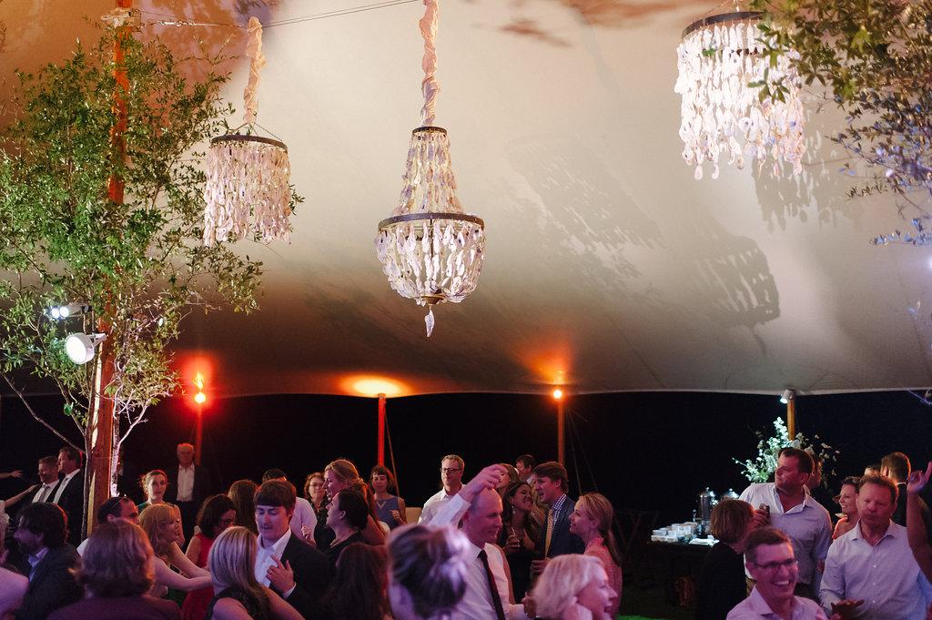 Wedding by the sea, Events by Reagan, Kiawah Wedding, Charleston Wedding Planner, Decorative Tent, Seashell Chandelier