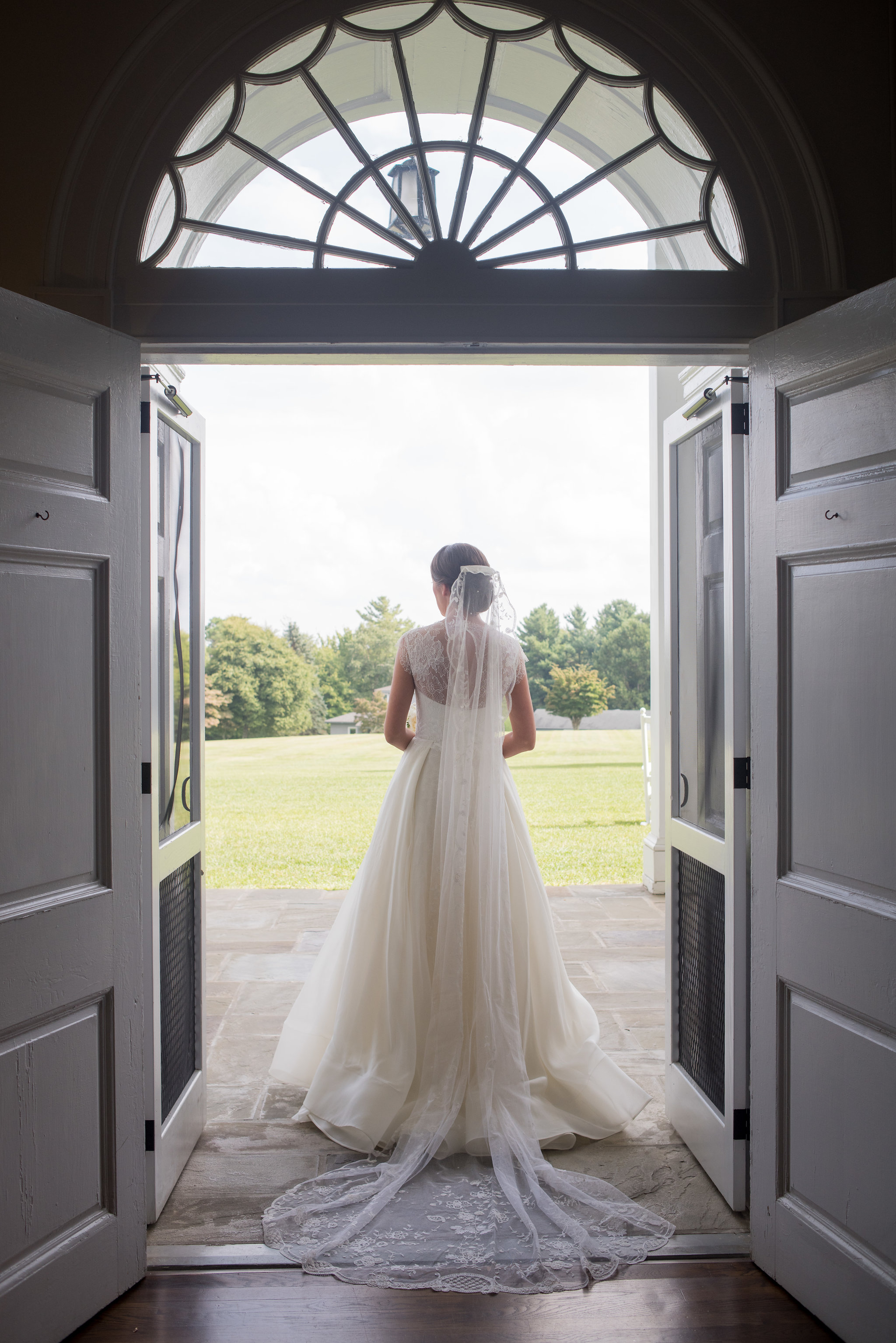 North Carolina Wedding, Events by Reagan, Destination Wedding Planner, Bride, Veil