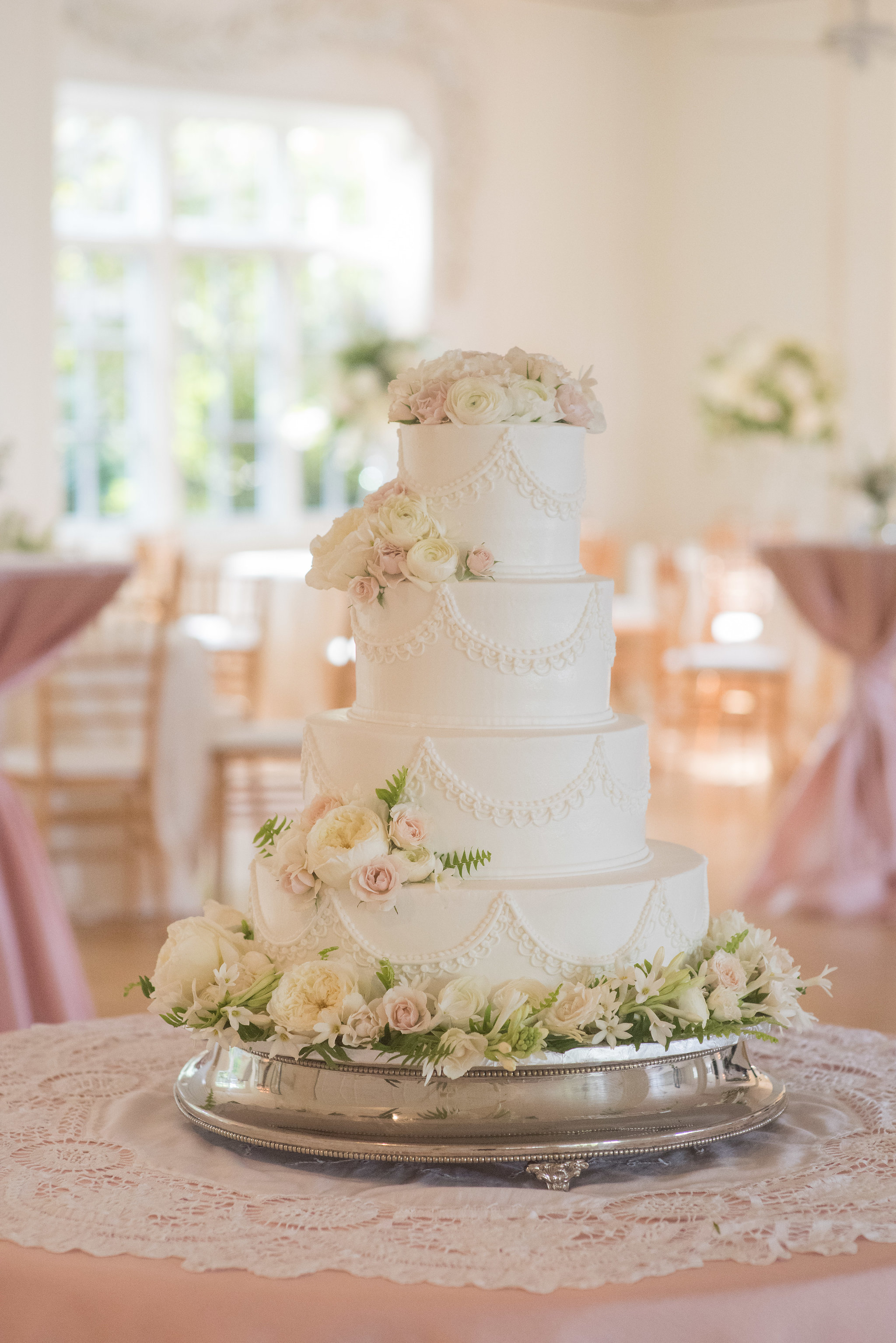North Carolina Wedding, Events by Reagan, Destination Wedding Planner, Wedding cake
