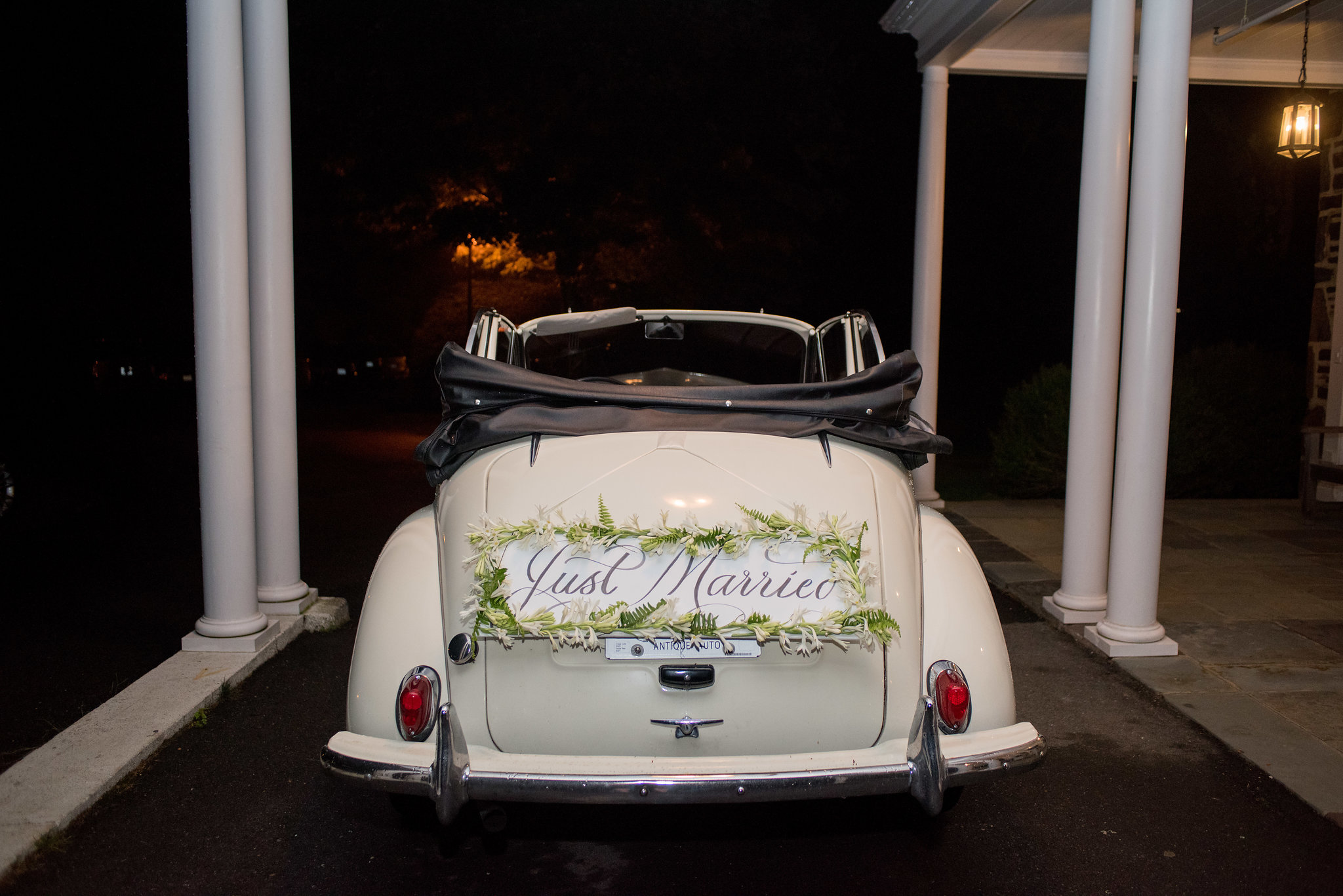 North Carolina Wedding, Events by Reagan, Destination Wedding Planner, Just married car