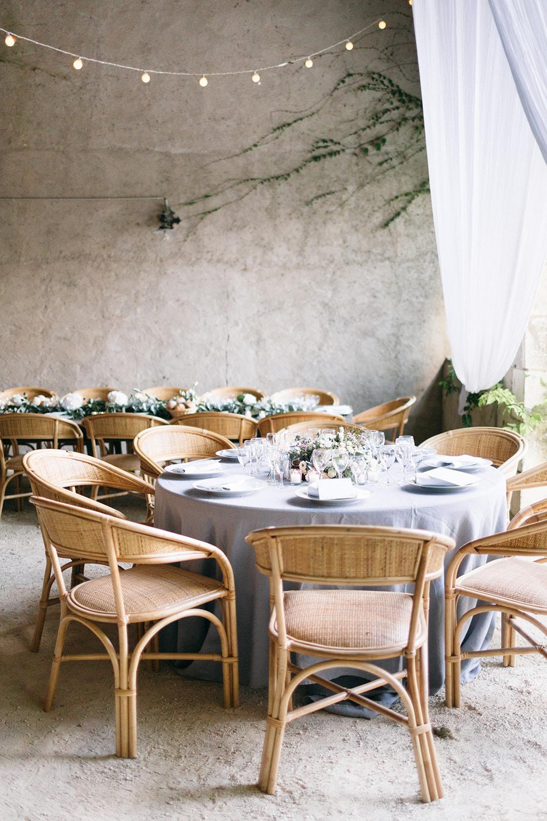 French Chateau Wedding, Events by Reagan, France Wedding, Destination Wedding Planner, Table setting