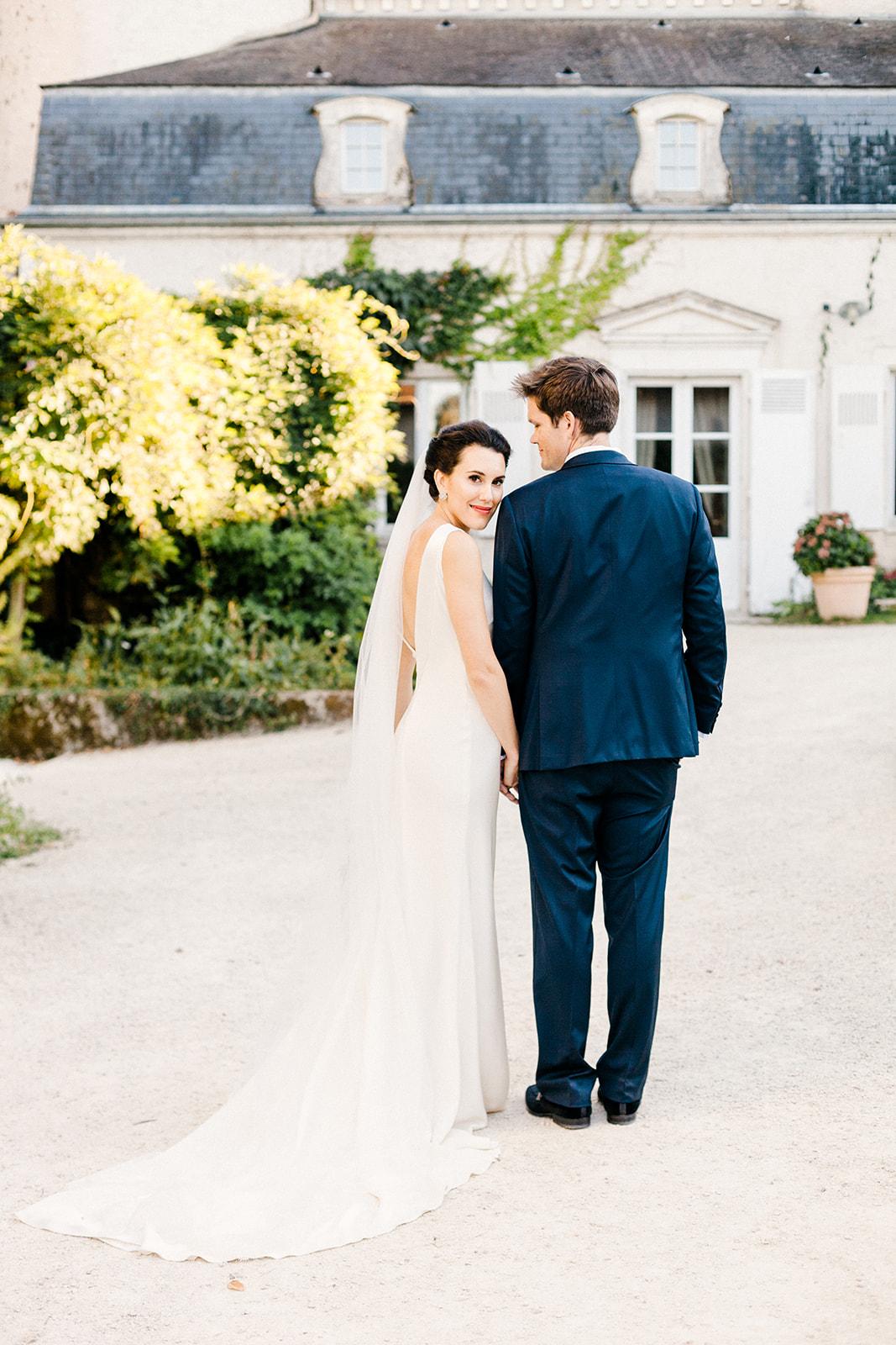 French Chateau Wedding, Events by Reagan, France Wedding, Destination Wedding Planner, Bride and Groom