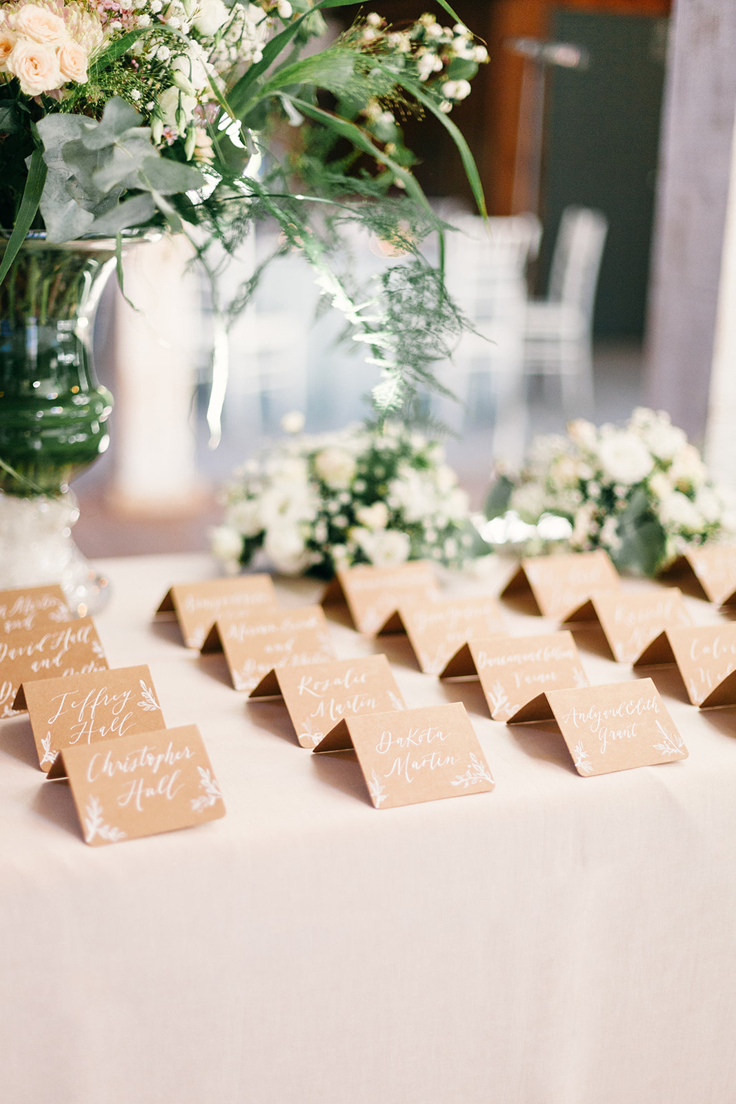 French Chateau Wedding, Events by Reagan, France Wedding, Destination Wedding Planner, Place cards
