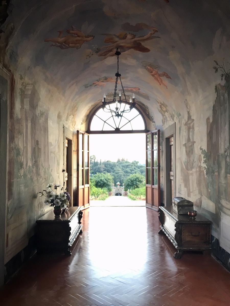 Events by Reagan, Villa Medicea di Lilliano, Italian Villa, Tuscany, Fresco, Italy, Destination Wedding Planner