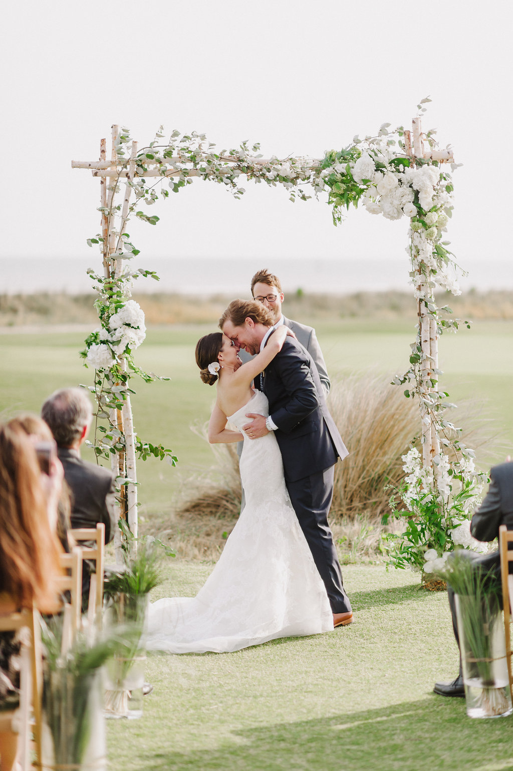Events by Reagan, Ocean Course Wedding, Ceremony Arbor, Kiawah, Charleston, Destination Wedding