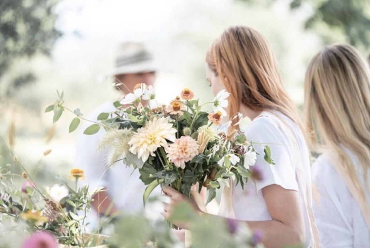 Puscina Flowers, Tuscan Florist, Pienza, Italian Wedding